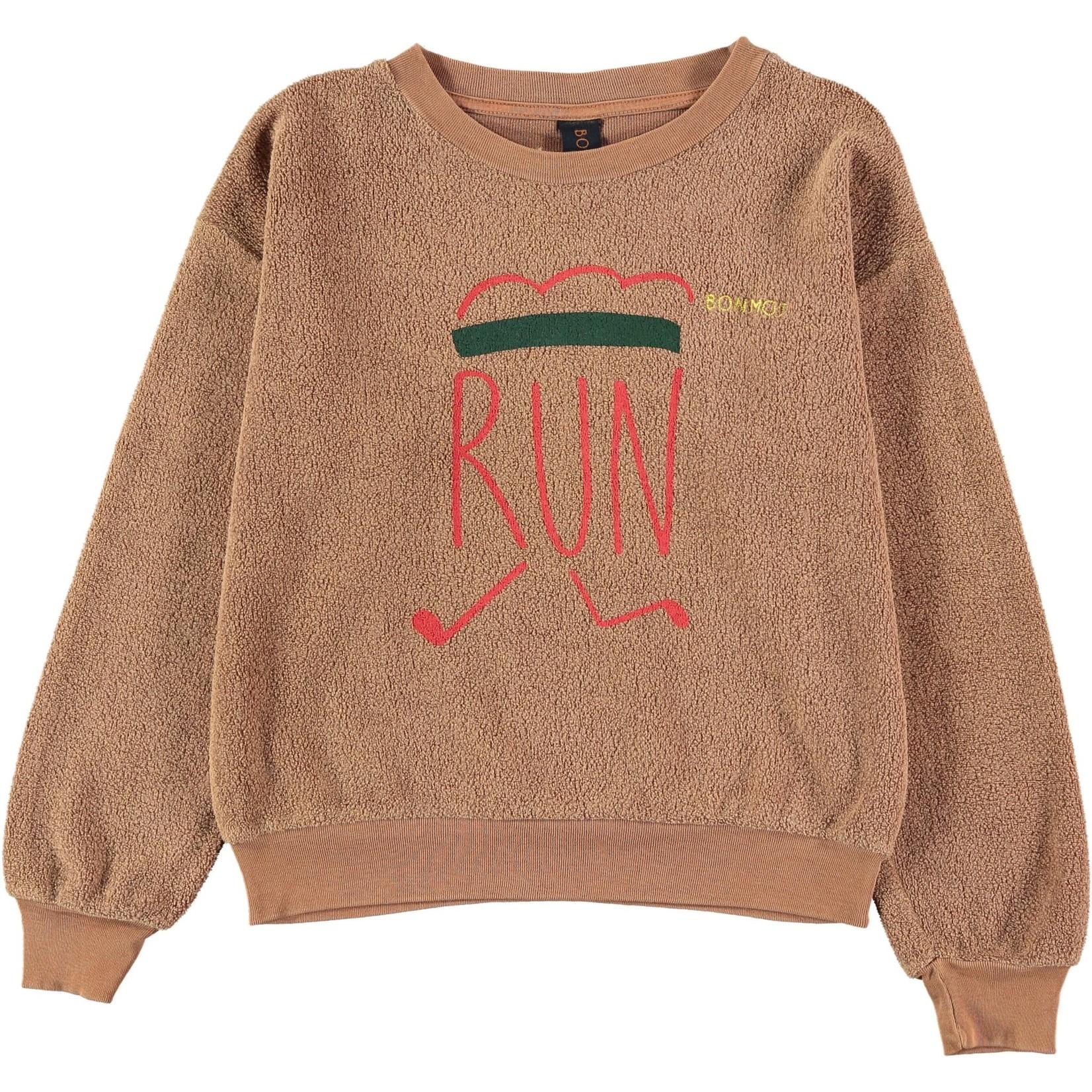 BONMOT BONMOT organic.Sweatshirt runner