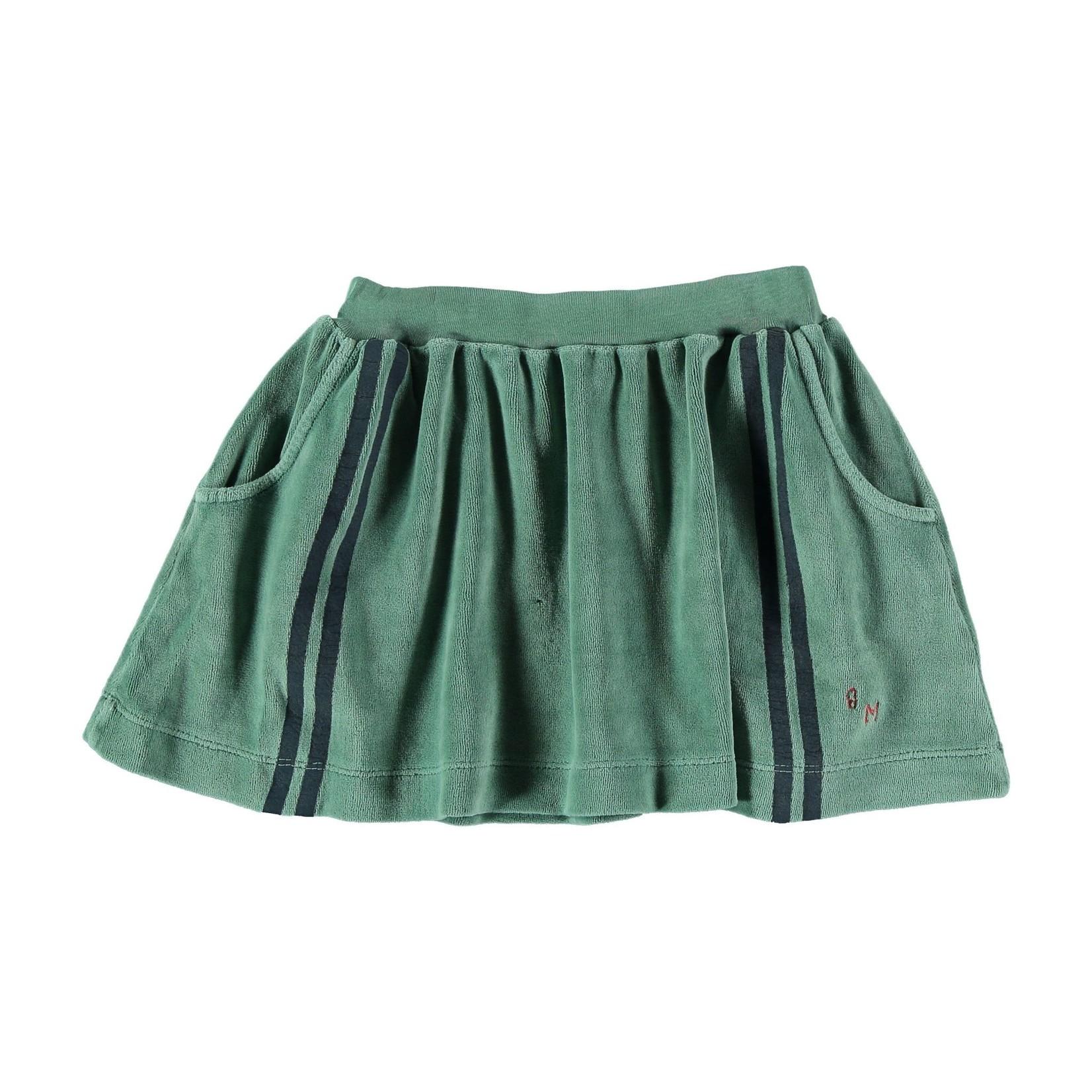 BONMOT BONMOT organic  Mini skirt side stripes