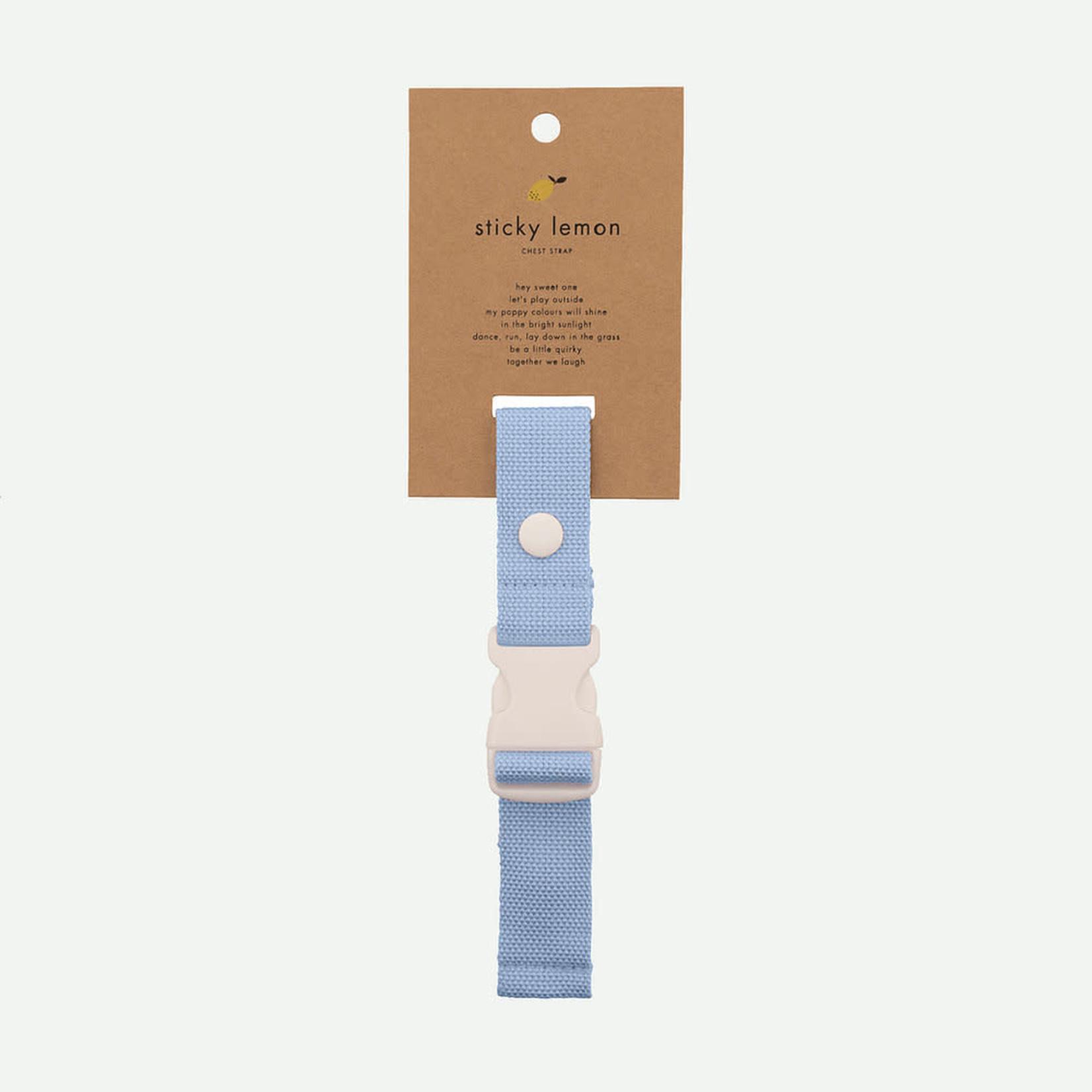 STICKY LEMON STICKY LEMON chest strap sunny blue