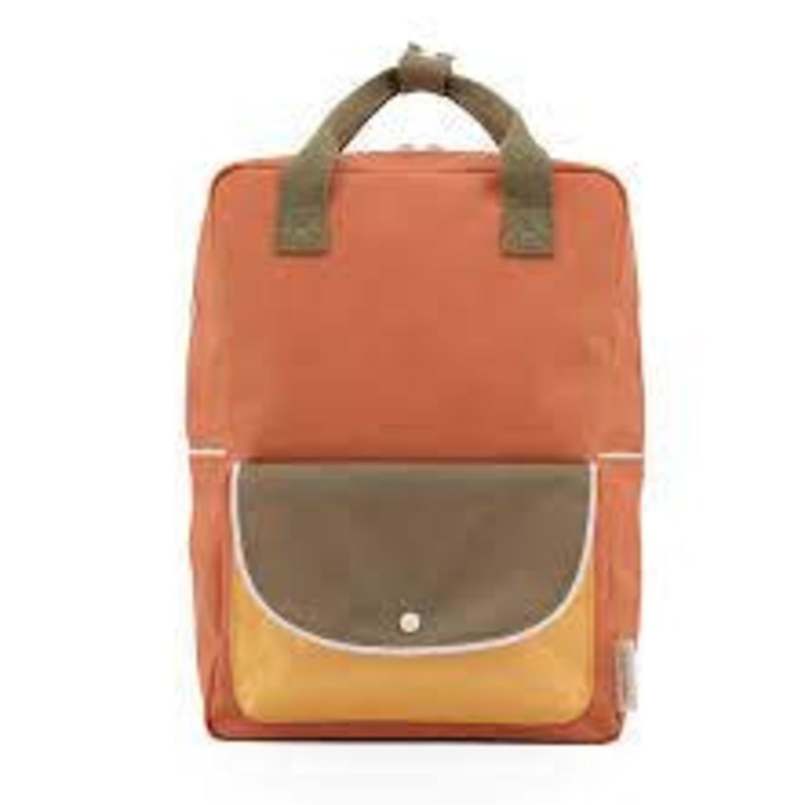 RILLA GO RILLA STICKY LEMON rugzak L faded orange