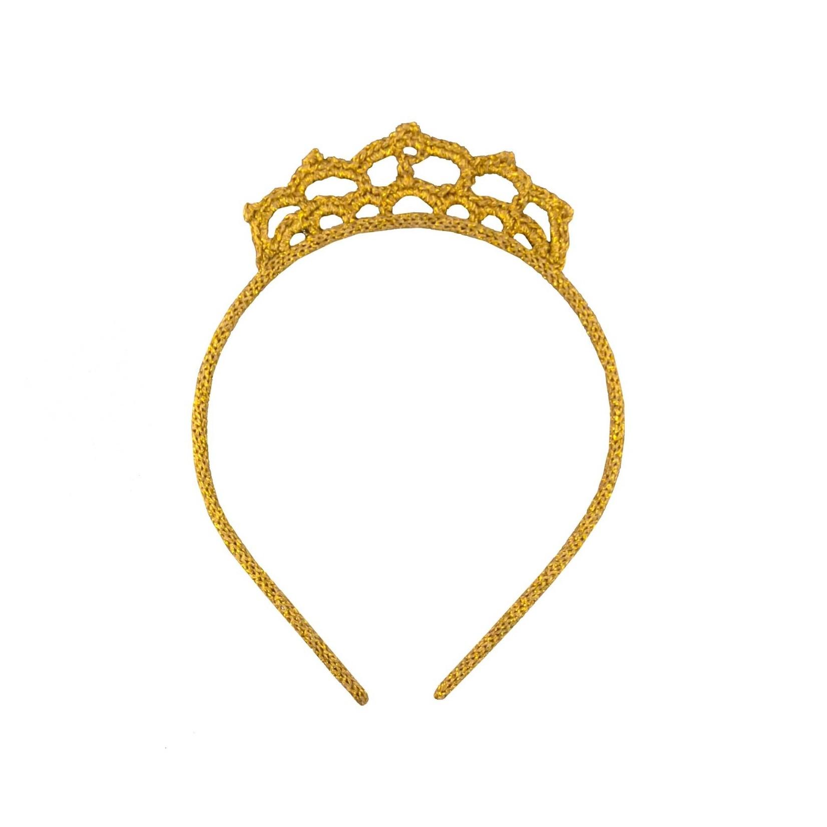 GLOBAL AFFAIRS GLOBAL AFFAIRS. Hairband Crown Gold