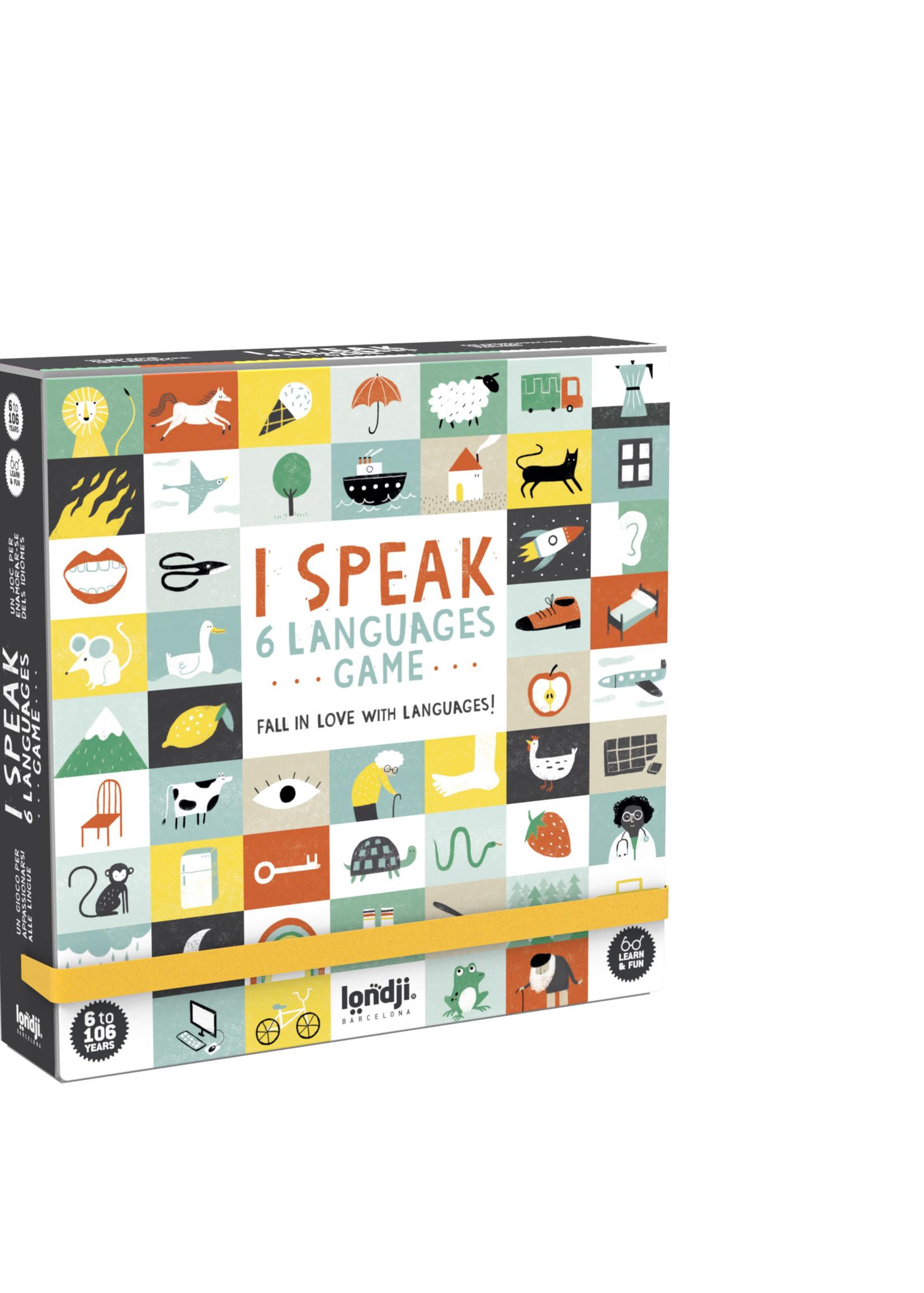 Londji Games - I Speak 6 Languages