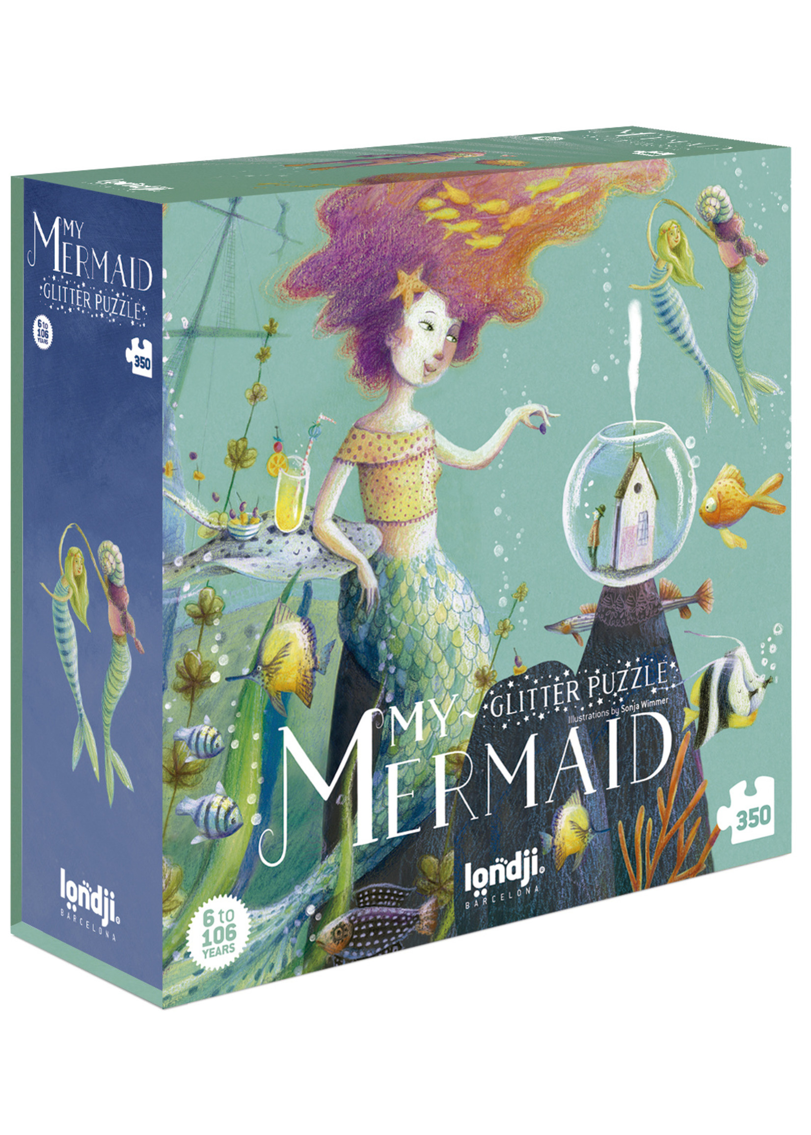Londji Puzzel - My Mermaid