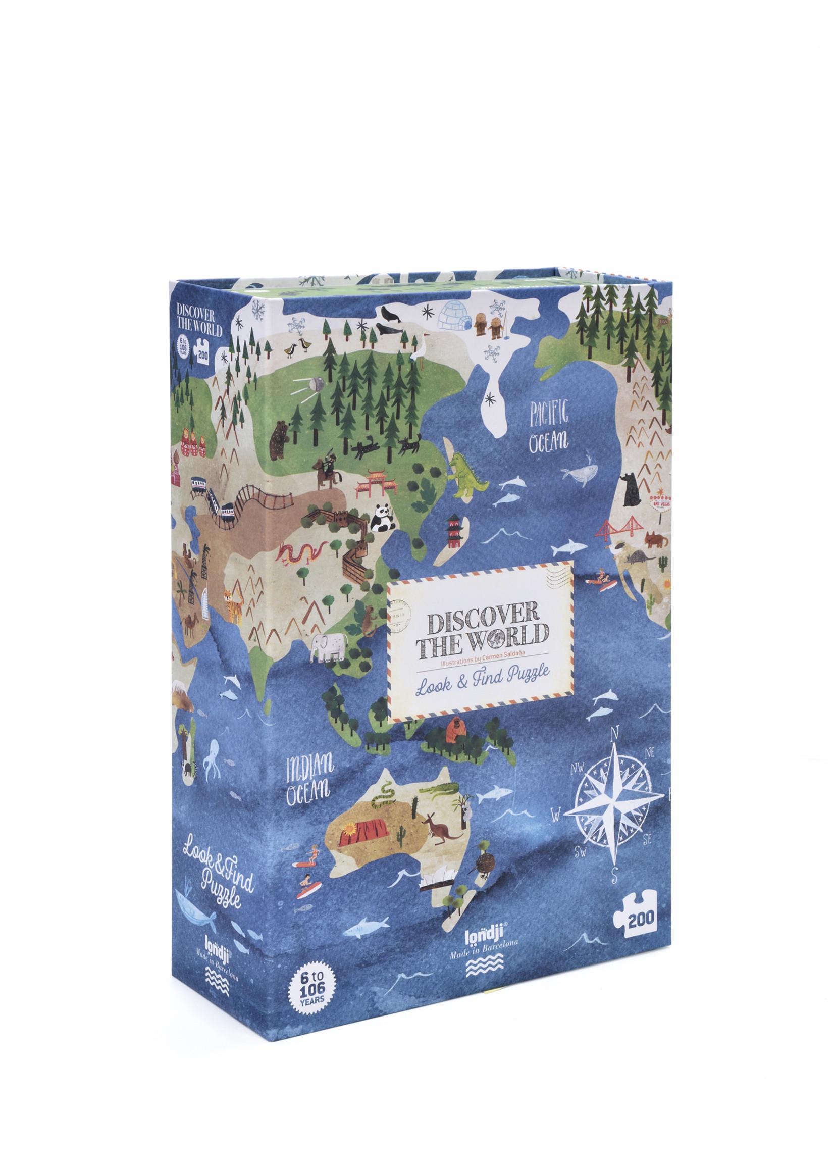 Londji Puzzel - Discover The World
