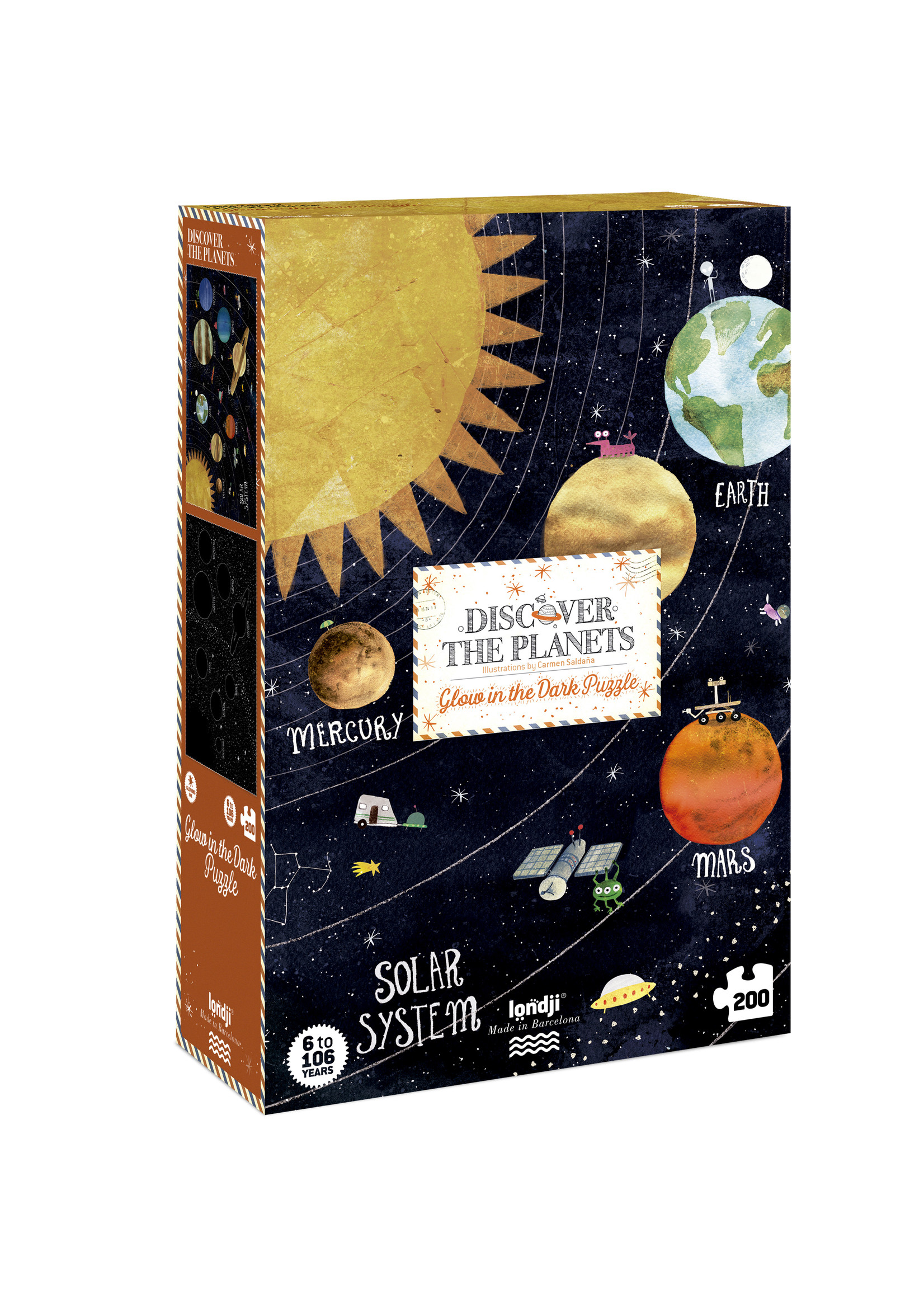 Londji Puzzel - Discover The Planets