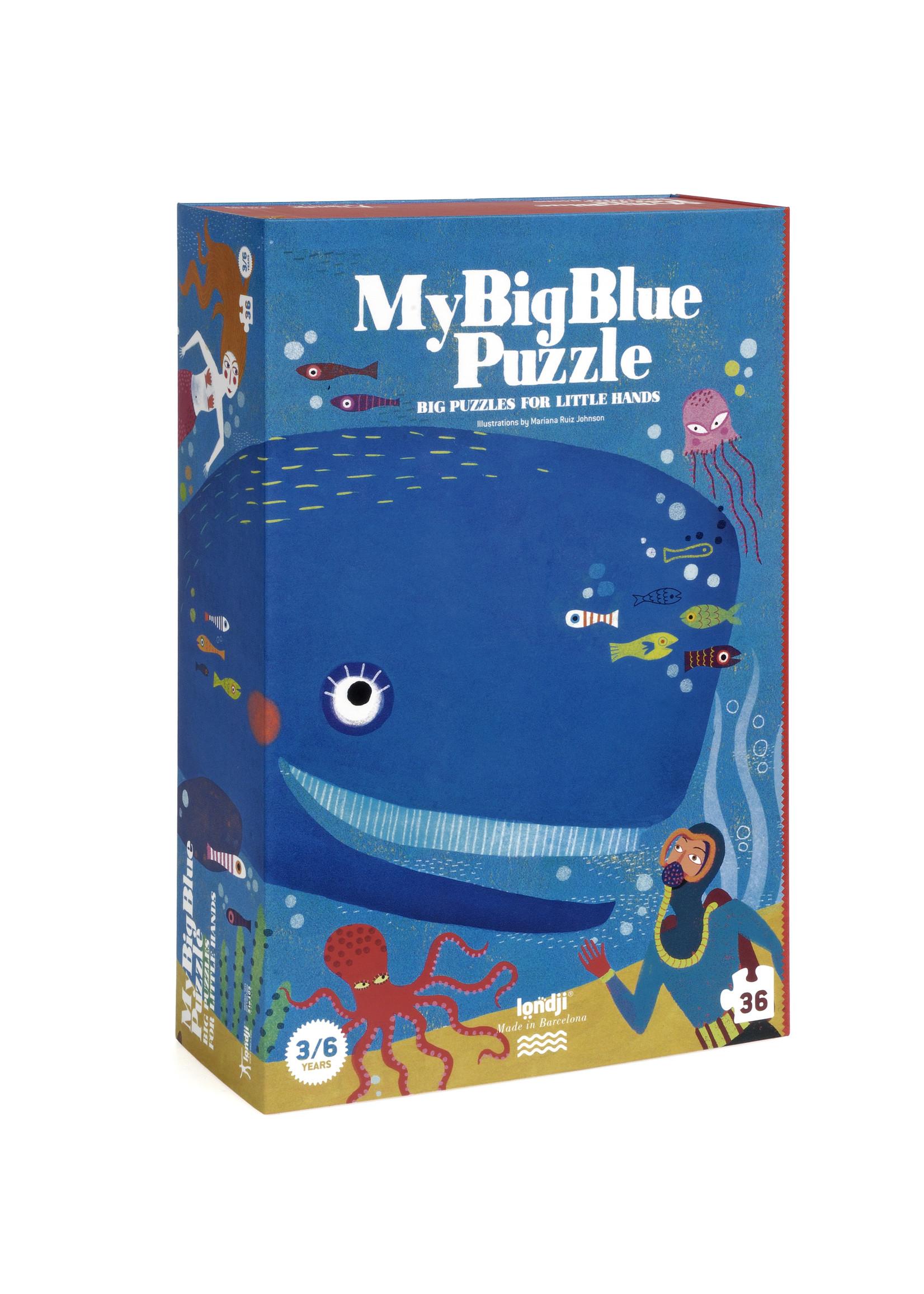 Londji Puzzle - My Big Blue