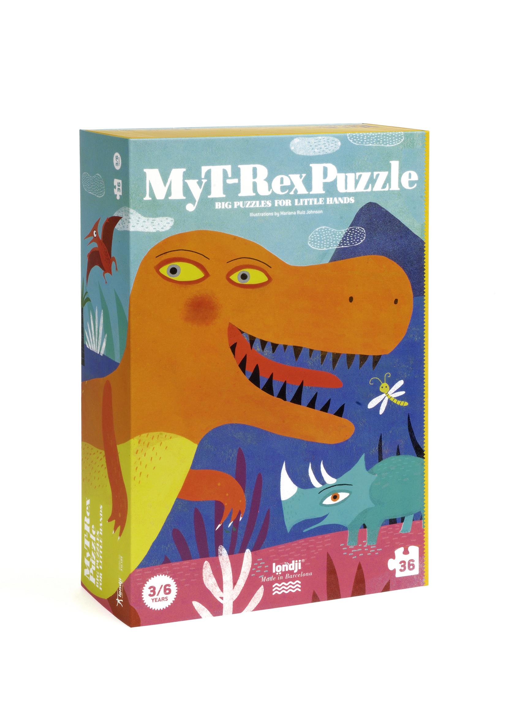 Londji Puzzle - My T-Rex
