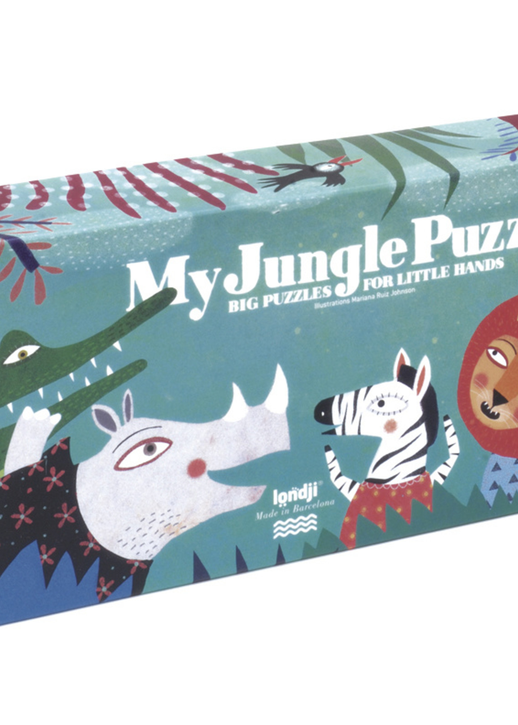 Londji Puzzle - My Jungle
