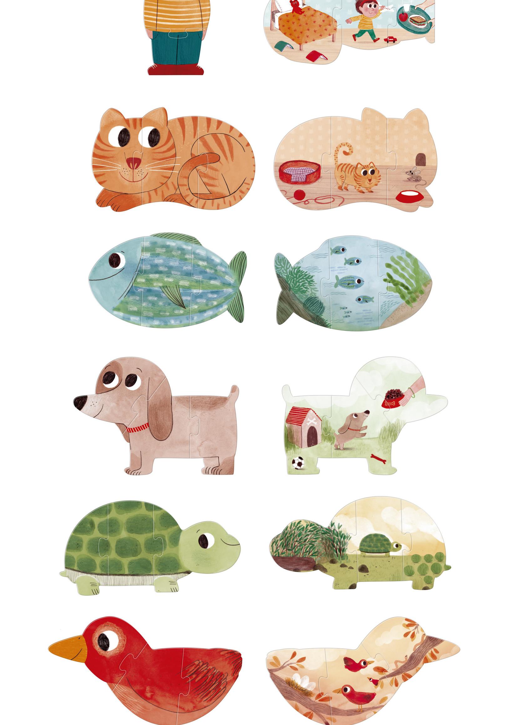 Londji Puzzle - I Love My Pets