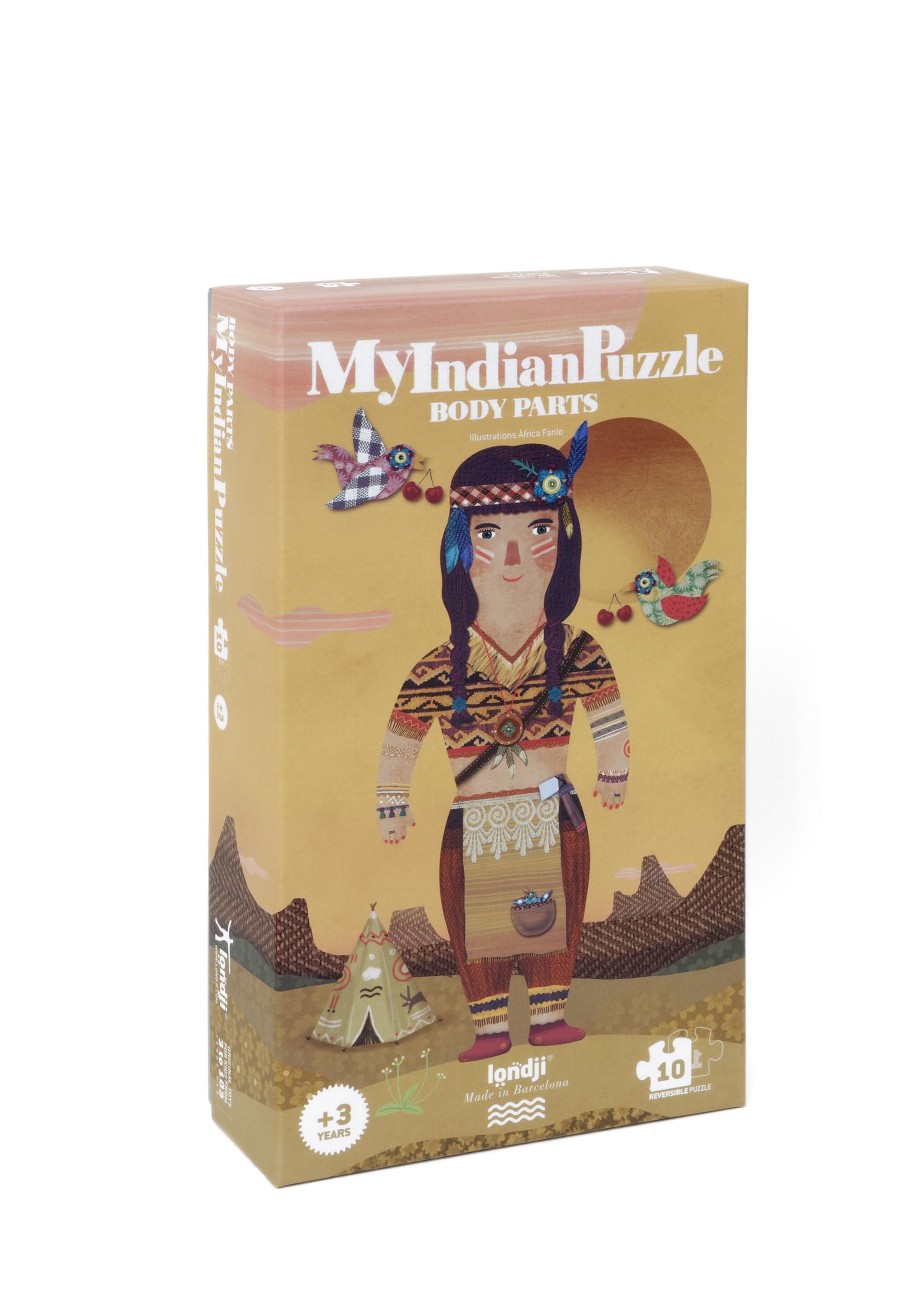 Londji Puzzle - My Indian