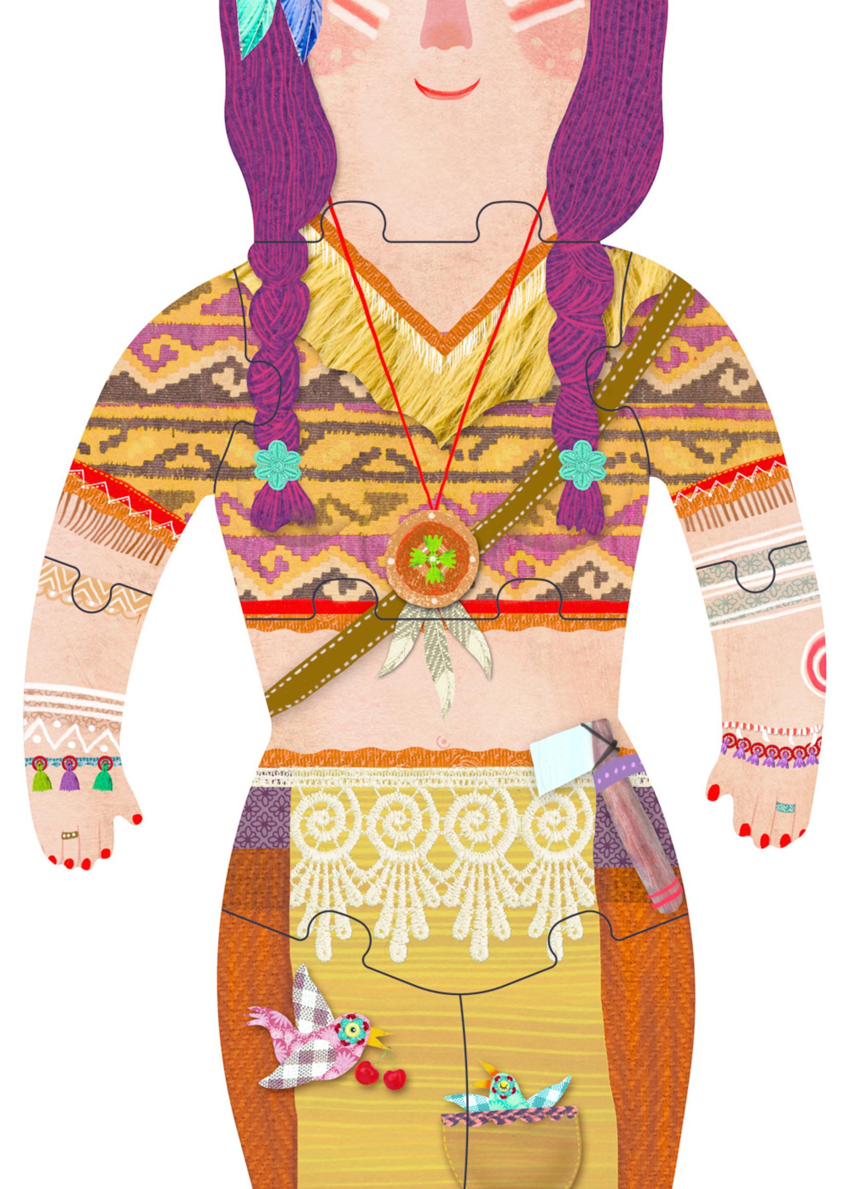 Londji Puzzel - My Indian