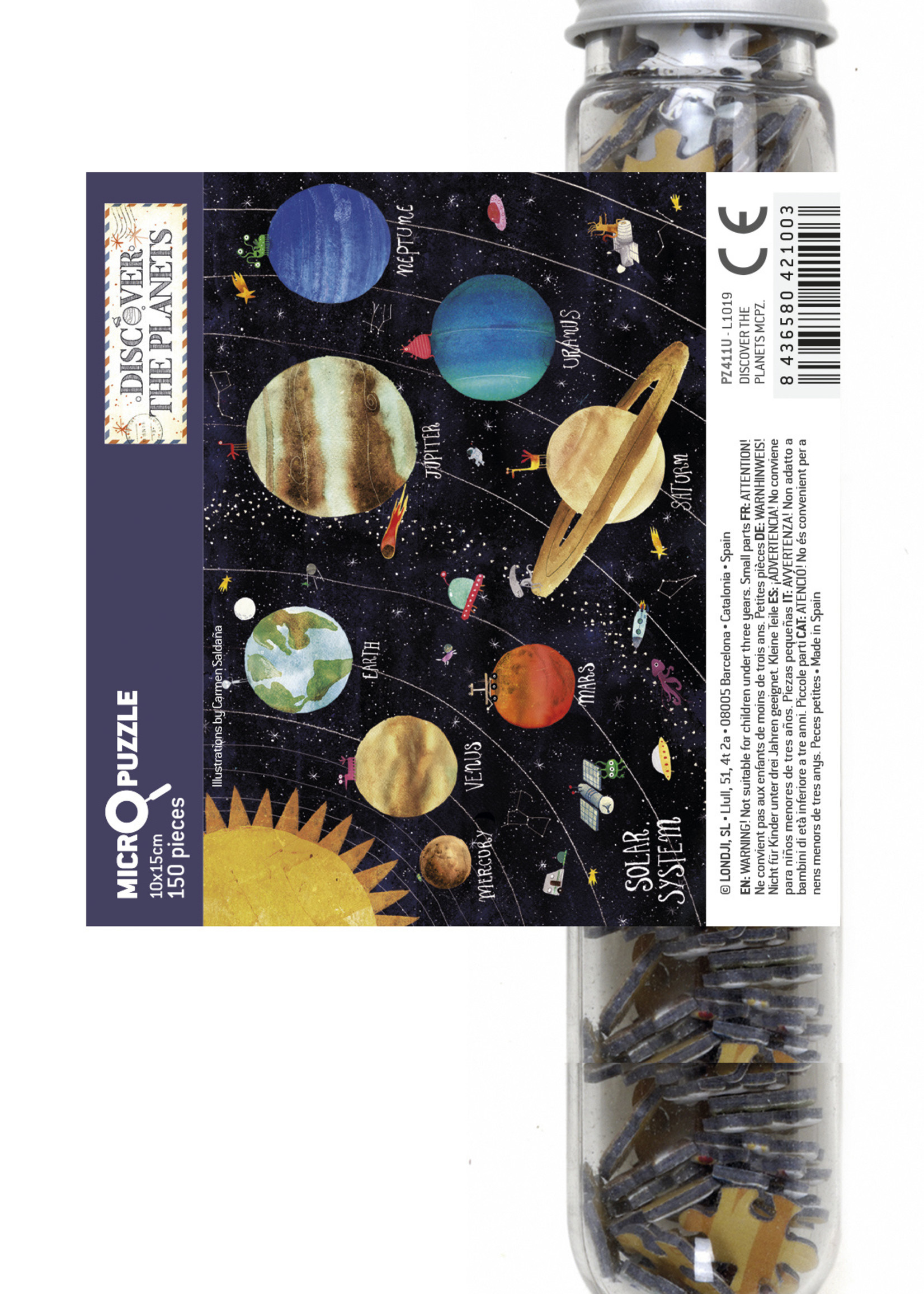 Londji Micropuzzle - Discover The Planet