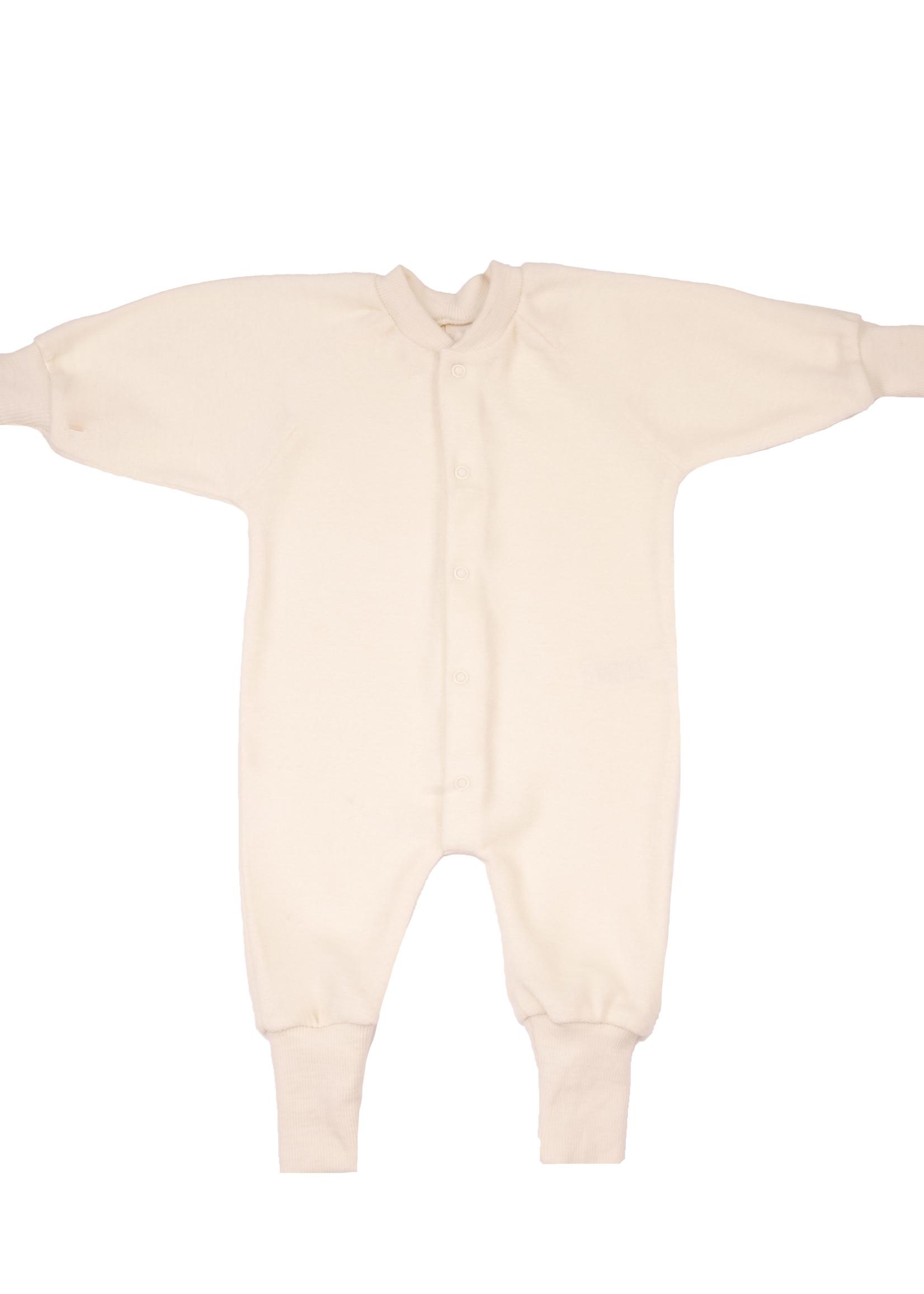 Cosilana One-Piece Pyjamas - 100% Soft Organic Merino Wool