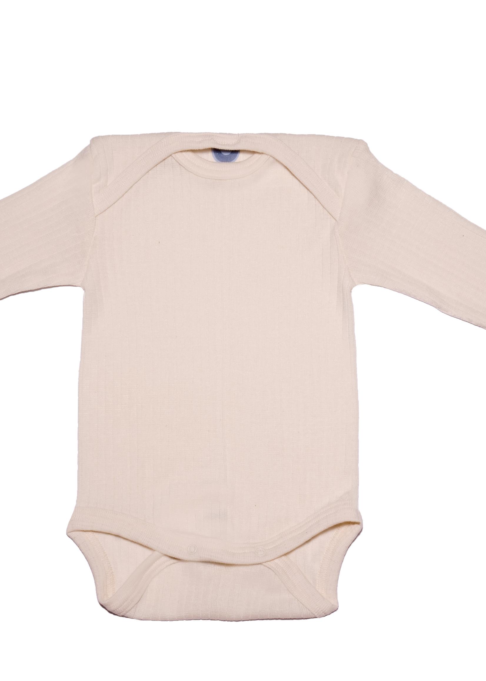Cosilana Body - Long Sleeve - Cotton/Wool/Silk