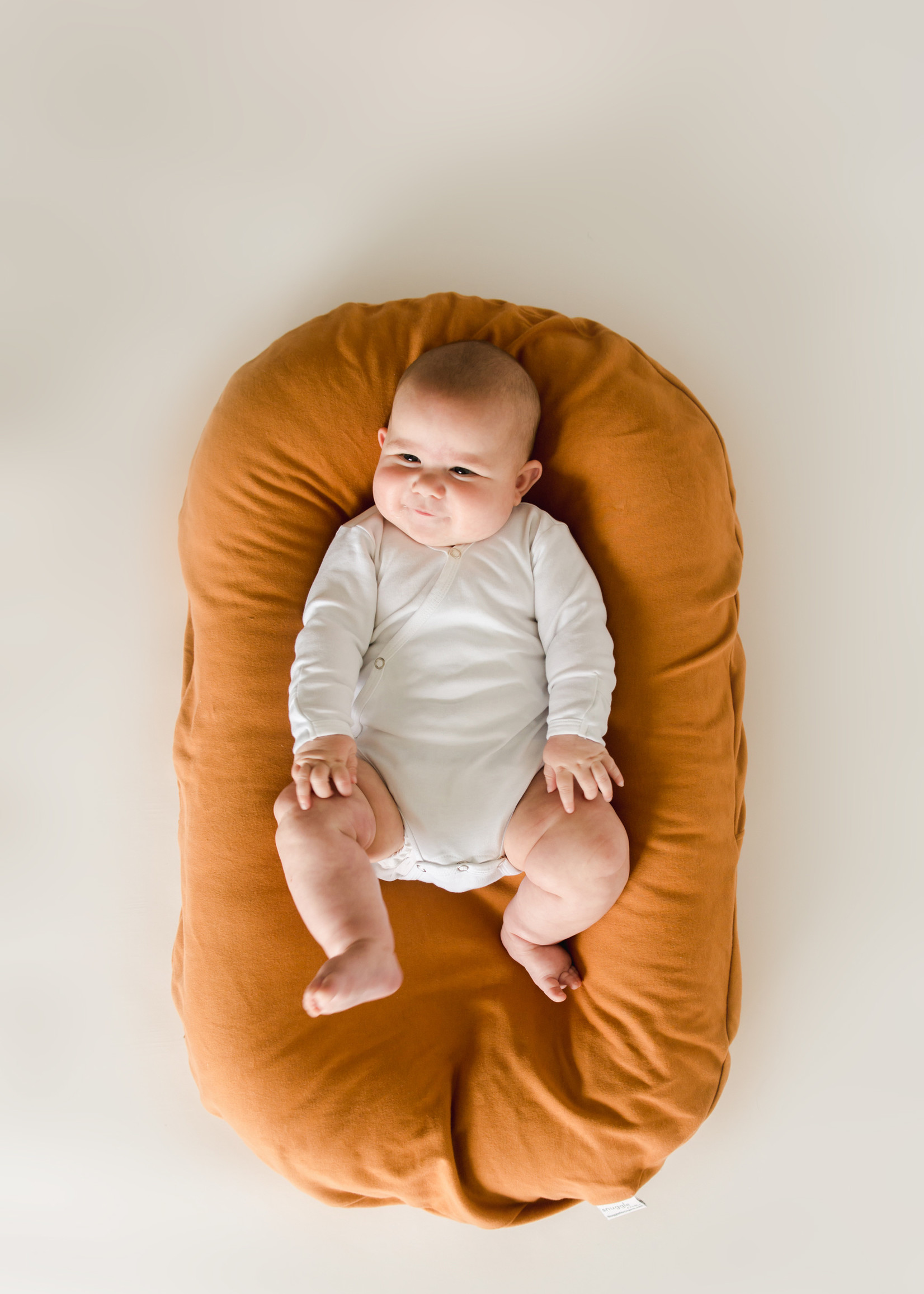 Snuggle Me Infant Lounger cover - Ember
