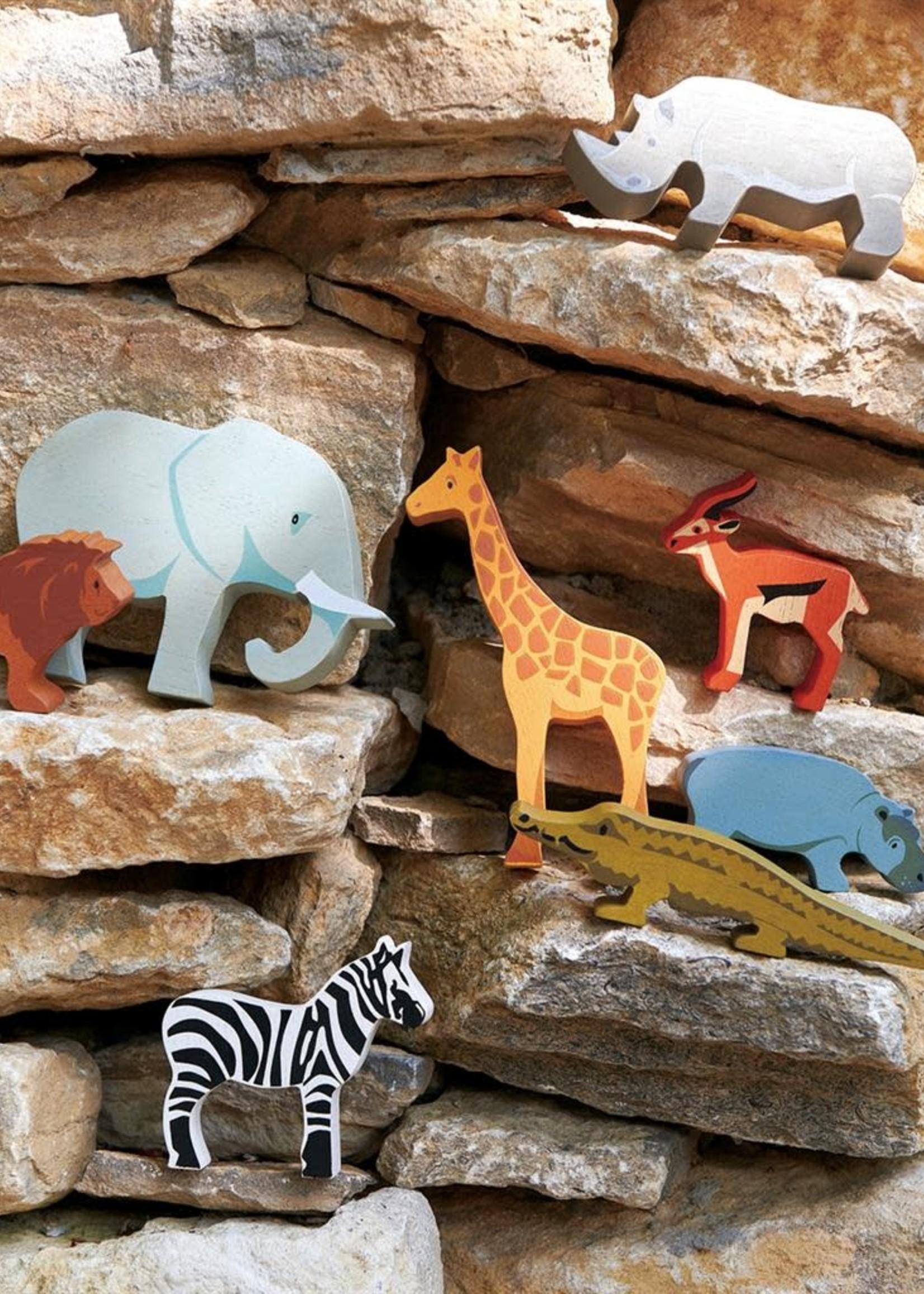 Tender Leaf Toys Safari Animals (8pcs)