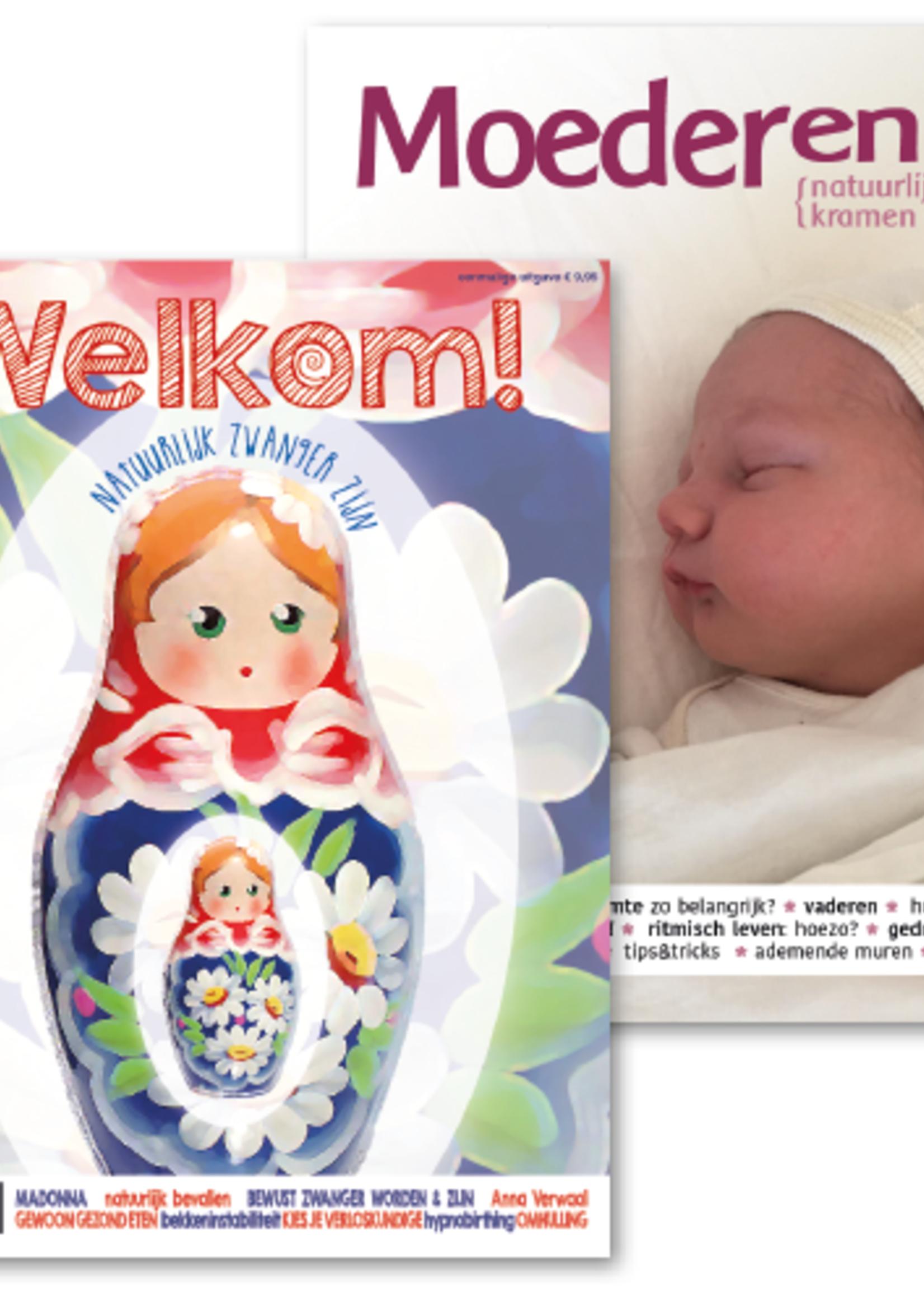 """Magazine """"Welkom"""" + magazine """"Moederen"""" (digitaal)"""