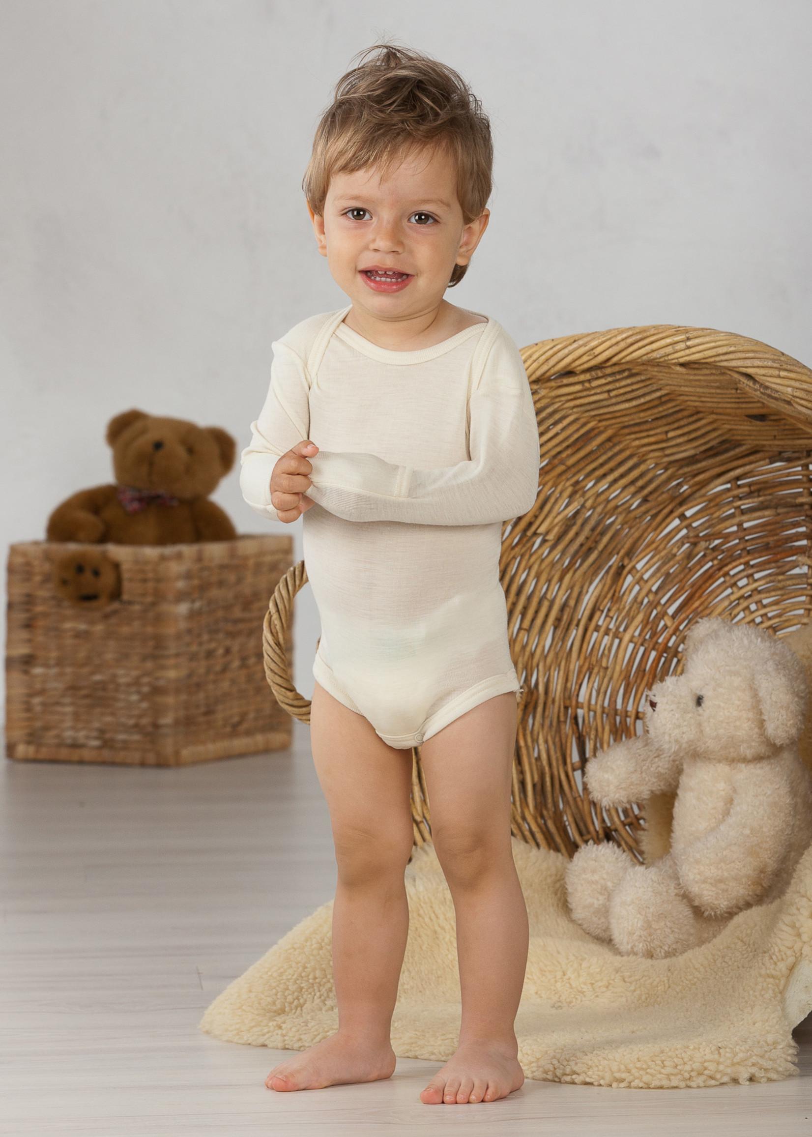Cosilana Body - Long Sleeve - Wool/Silk