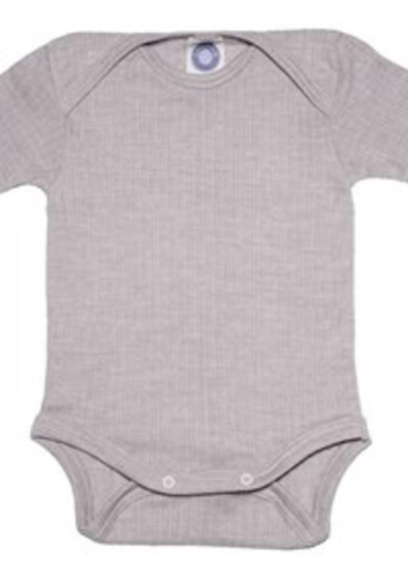 Cosilana Body - Short Sleeve - Cotton/Wool/Silk