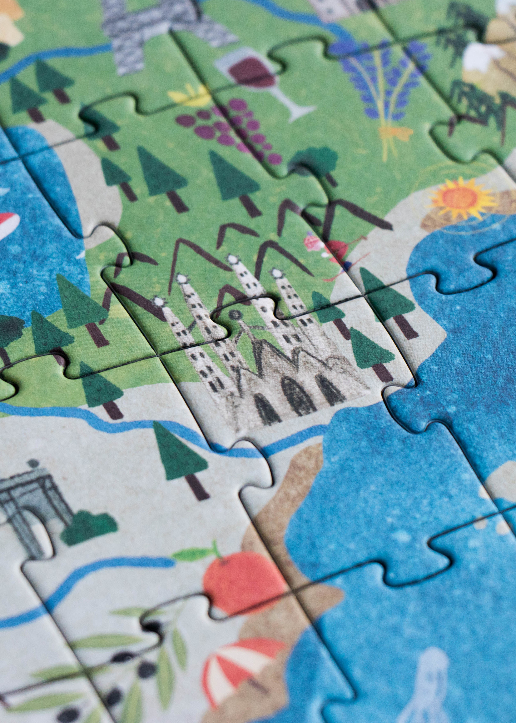 Londji Puzzel - Discover Europe