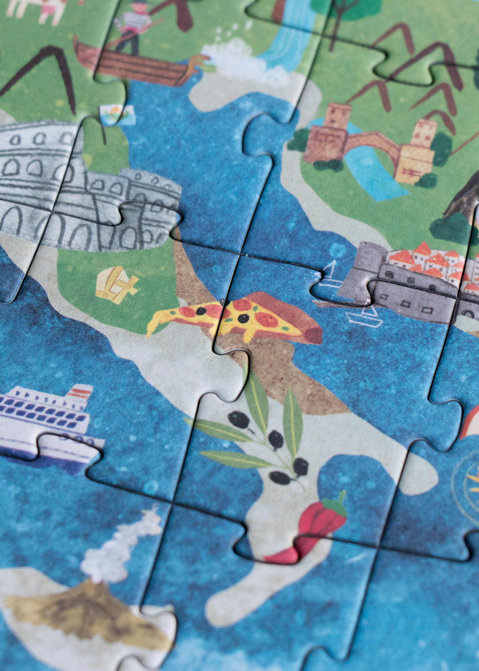 Londji Puzzle - Discover Europe