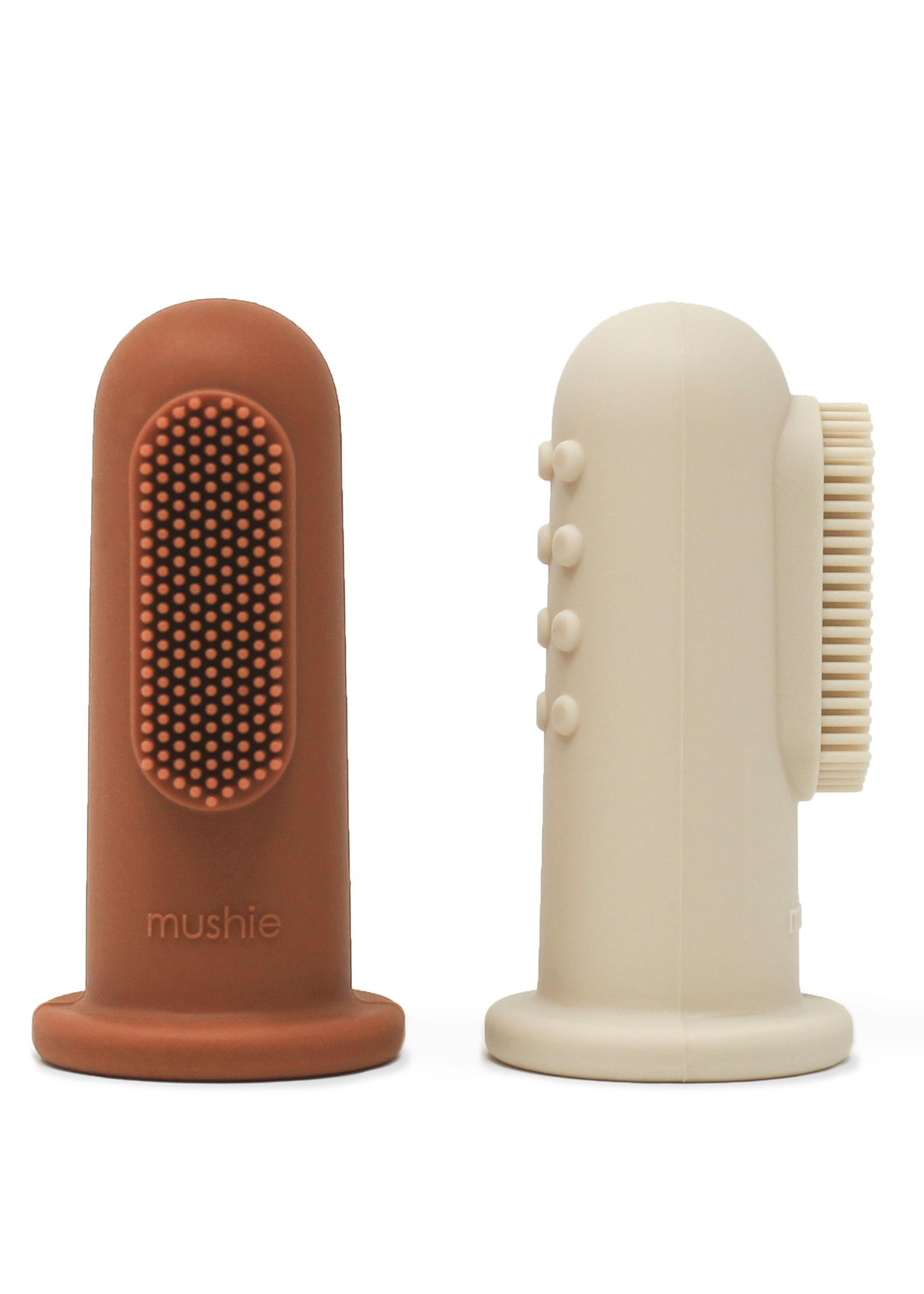 Mushie Toothbrush - Shifting Sand & Clay