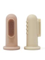 Mushie Toothbrush - Shifting Sand & Blush