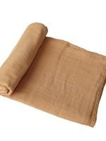 Mushie Muslin Swaddle Blanket Organic Cotton - Fall Yellow