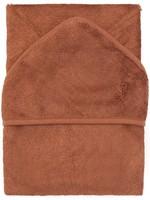 Timboo Hooded towel - Hazel Brown