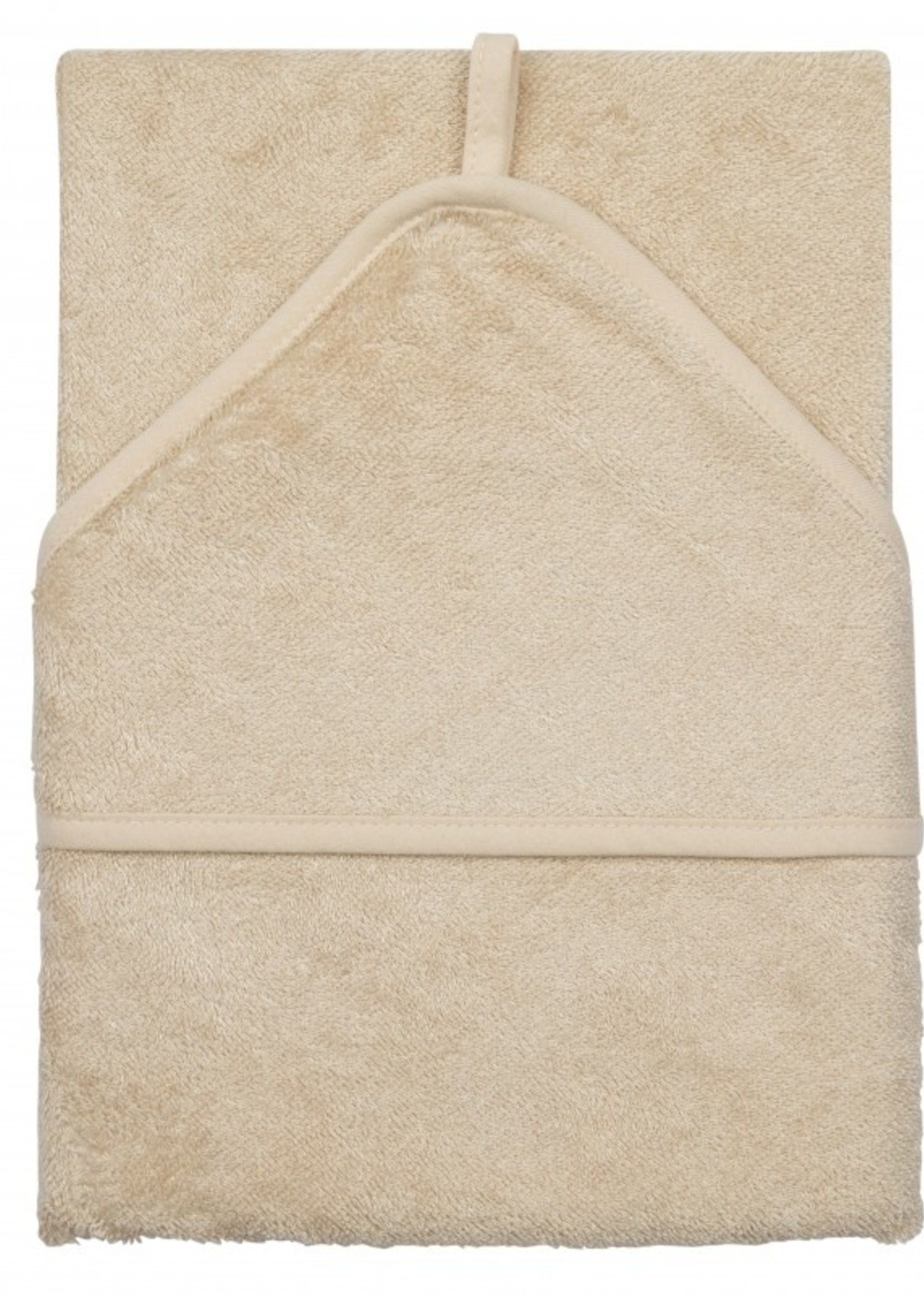 Timboo Hooded towel - Frosted Almond