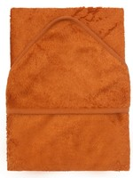 Timboo Hooded towel - Inca Rust