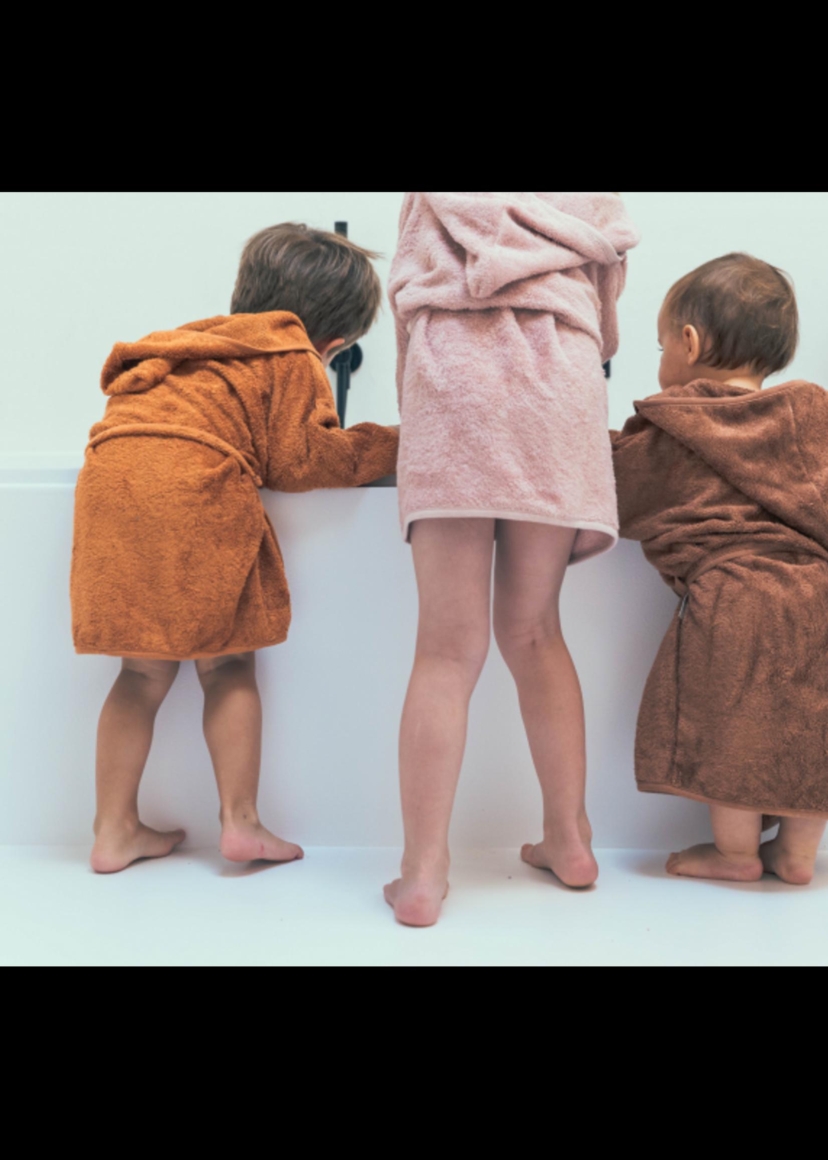 Timboo Bathrobe Kids - Hazel Brown