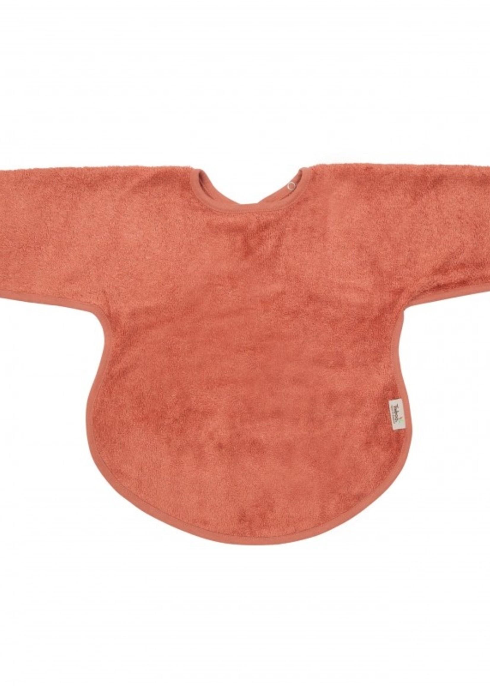Timboo Bib Long Sleeve - Apricot Blush
