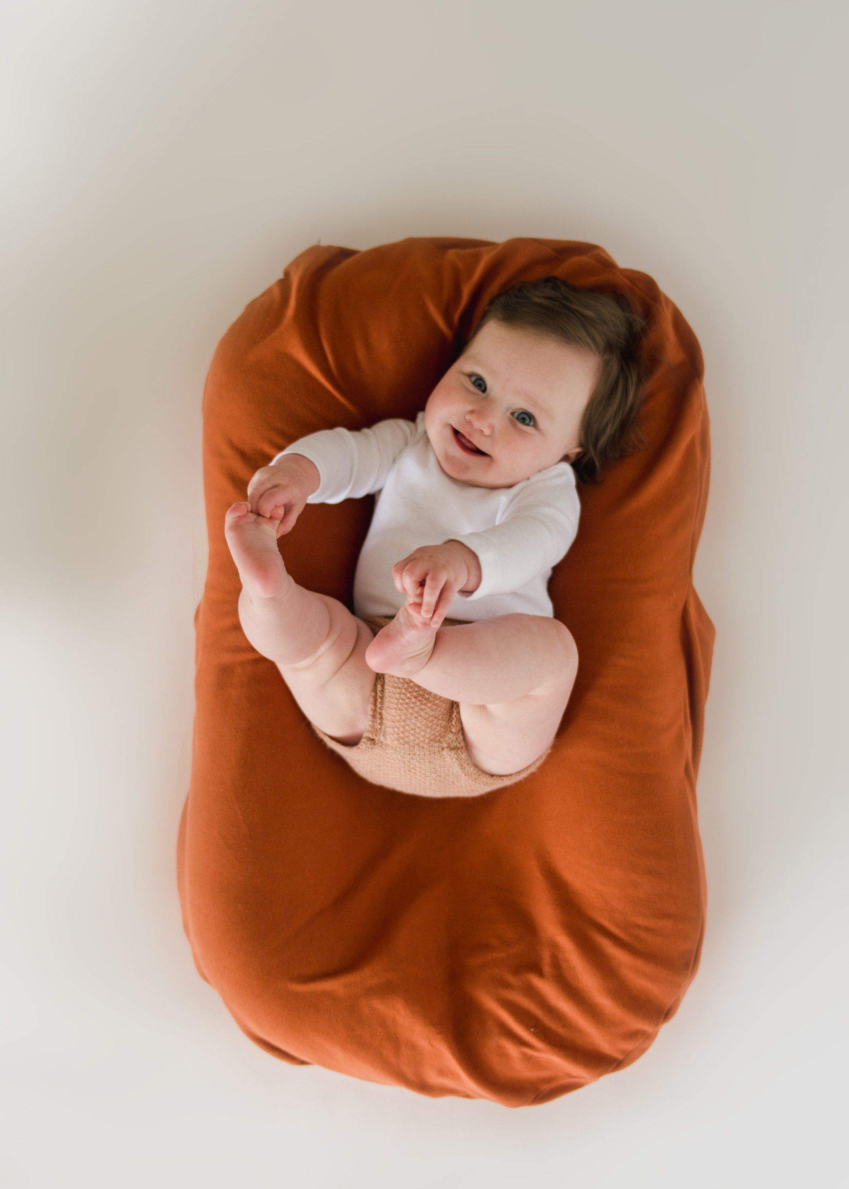Snuggle Me Infant Lounger Cover - Gingerbread