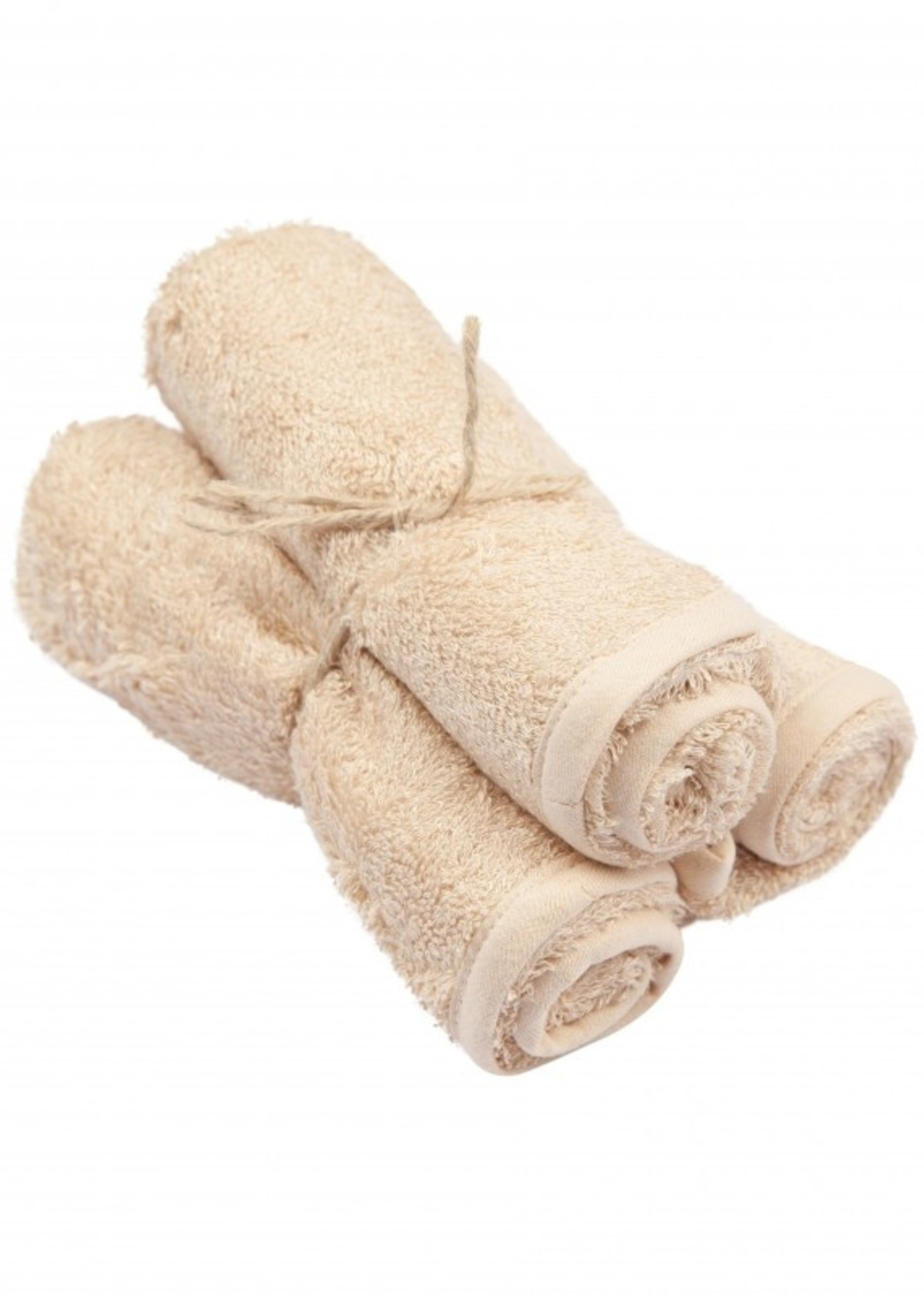 Timboo Set 3 Small Towels - Frosted Almond