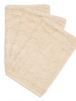 Timboo Set -  3 washcloths Frosted Almond