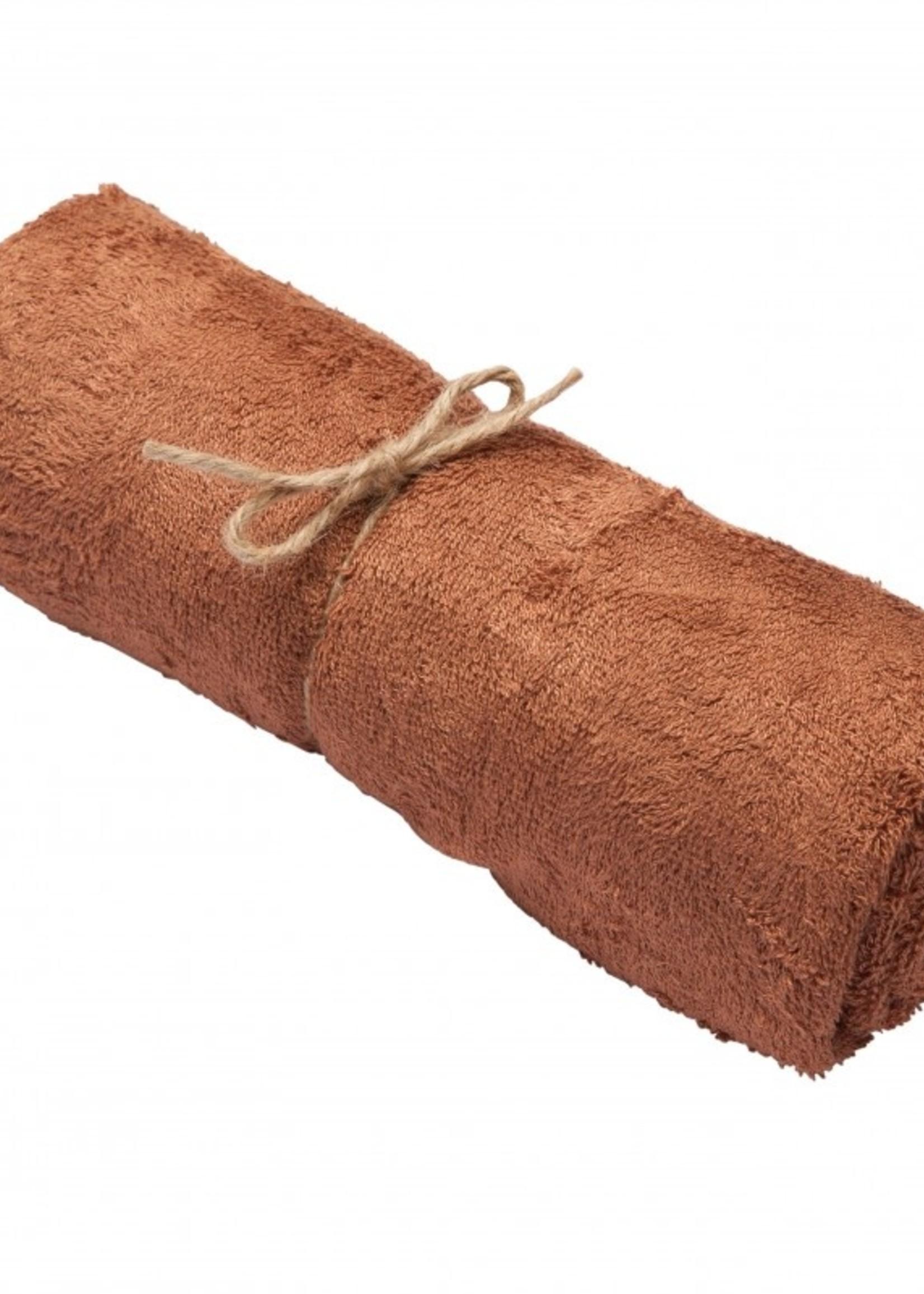 Timboo Towel Large - Hazel Brown
