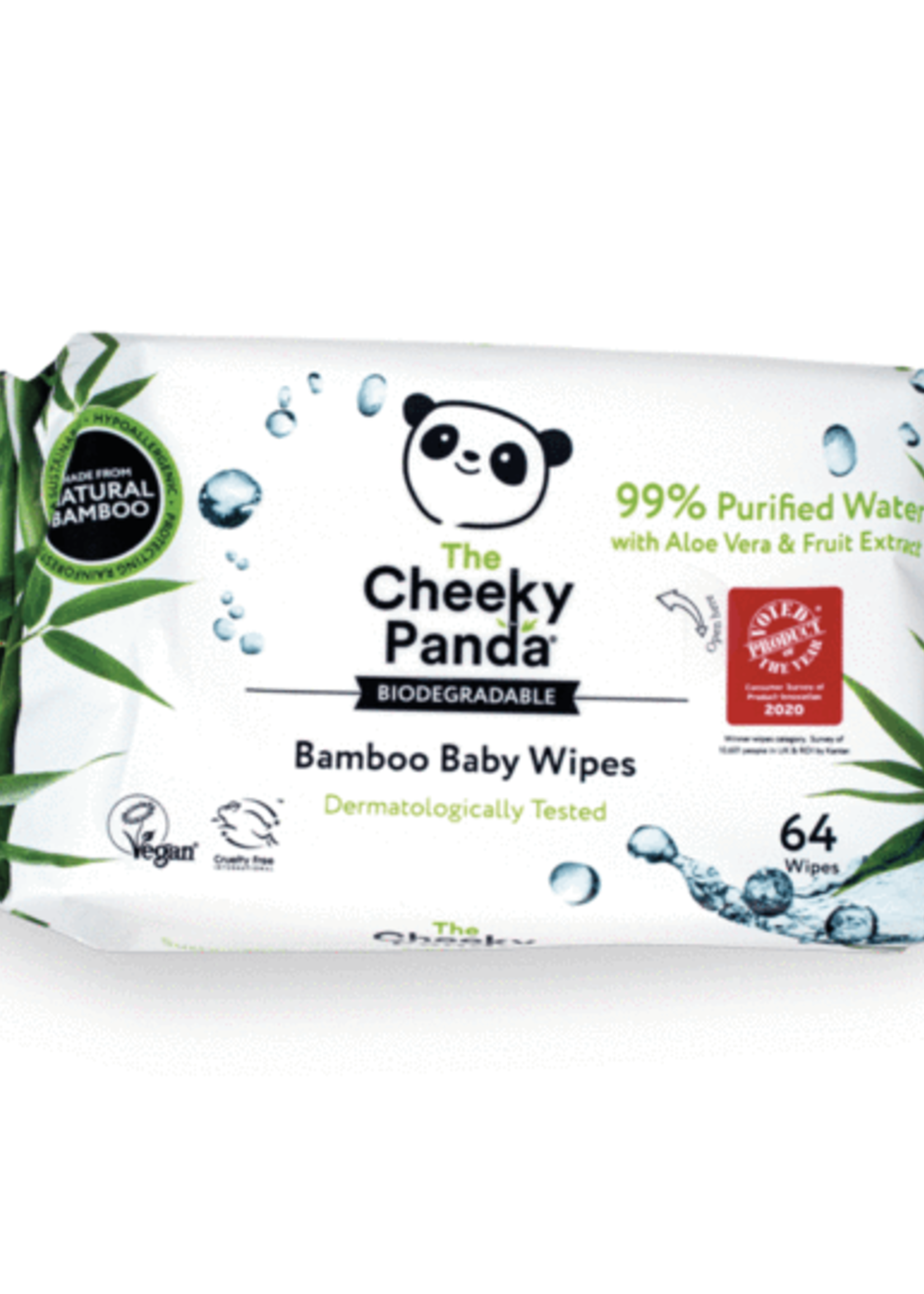 The Cheeky Panda Bamboo Wipes