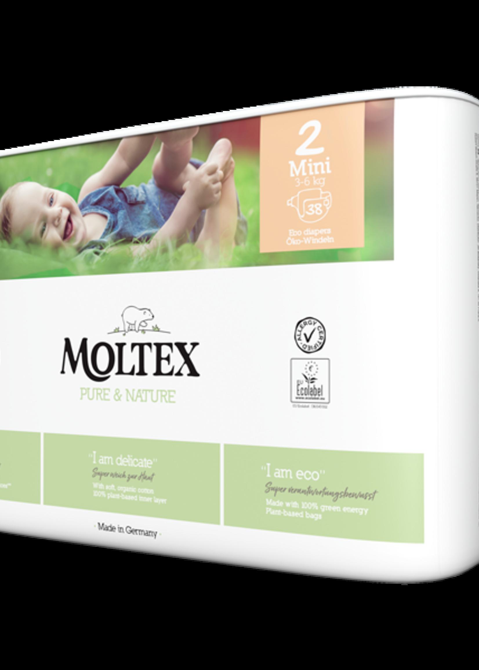 Moltex Eco Diaper - Mini (2-6kg)
