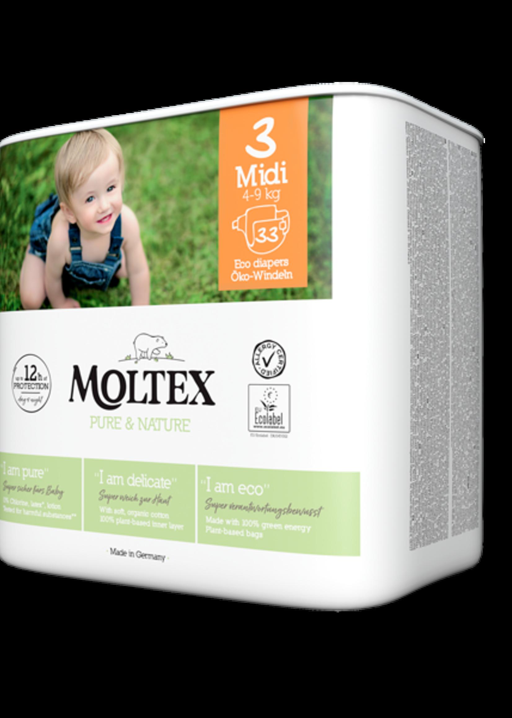 Moltex Diaper Eco - Midi (4-9kg)