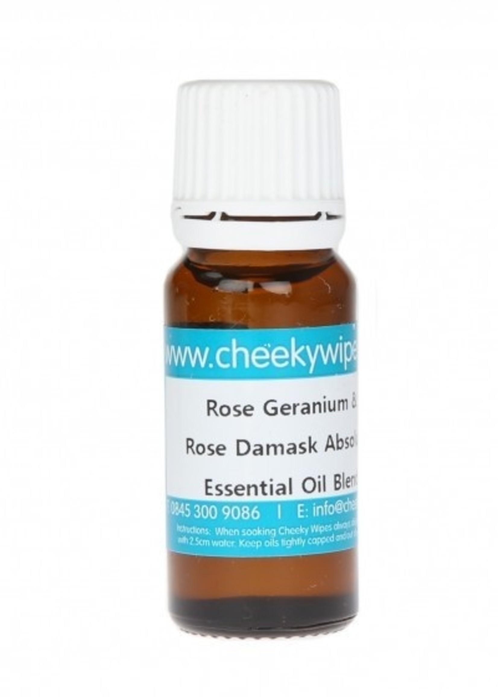 Cheeky Wipes Essential Oil - Rose & Rose Geranium - 10 ml