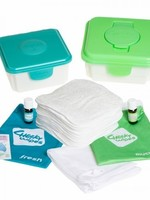 Cheeky Wipes Baby Wipes - All-In-One Kit - Green