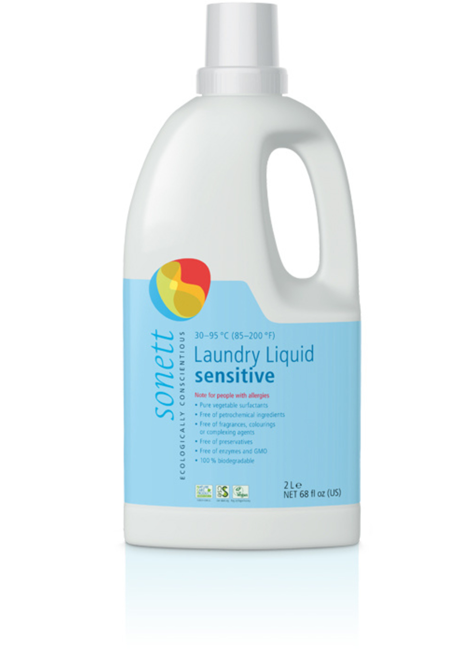 Laundry Liquid Sensitive - 30-95° - 2000 ml