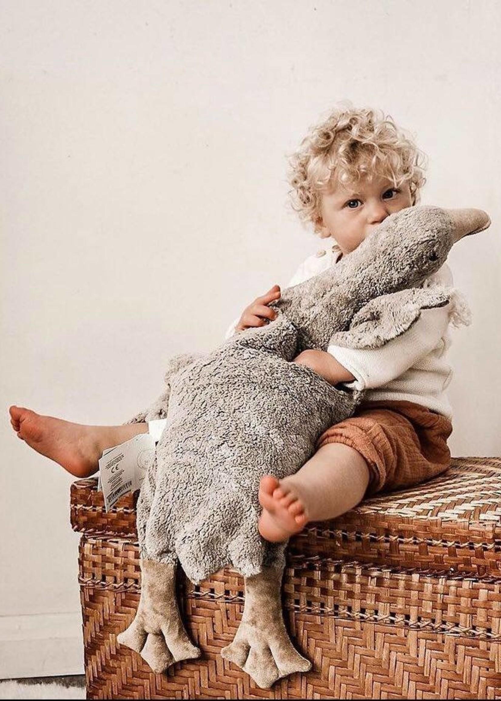 Senger Naturwelt Organic Cuddly Goose - Large - Grey