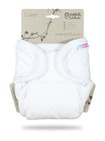 Petit Lulu One Size Cover - Snaps - White