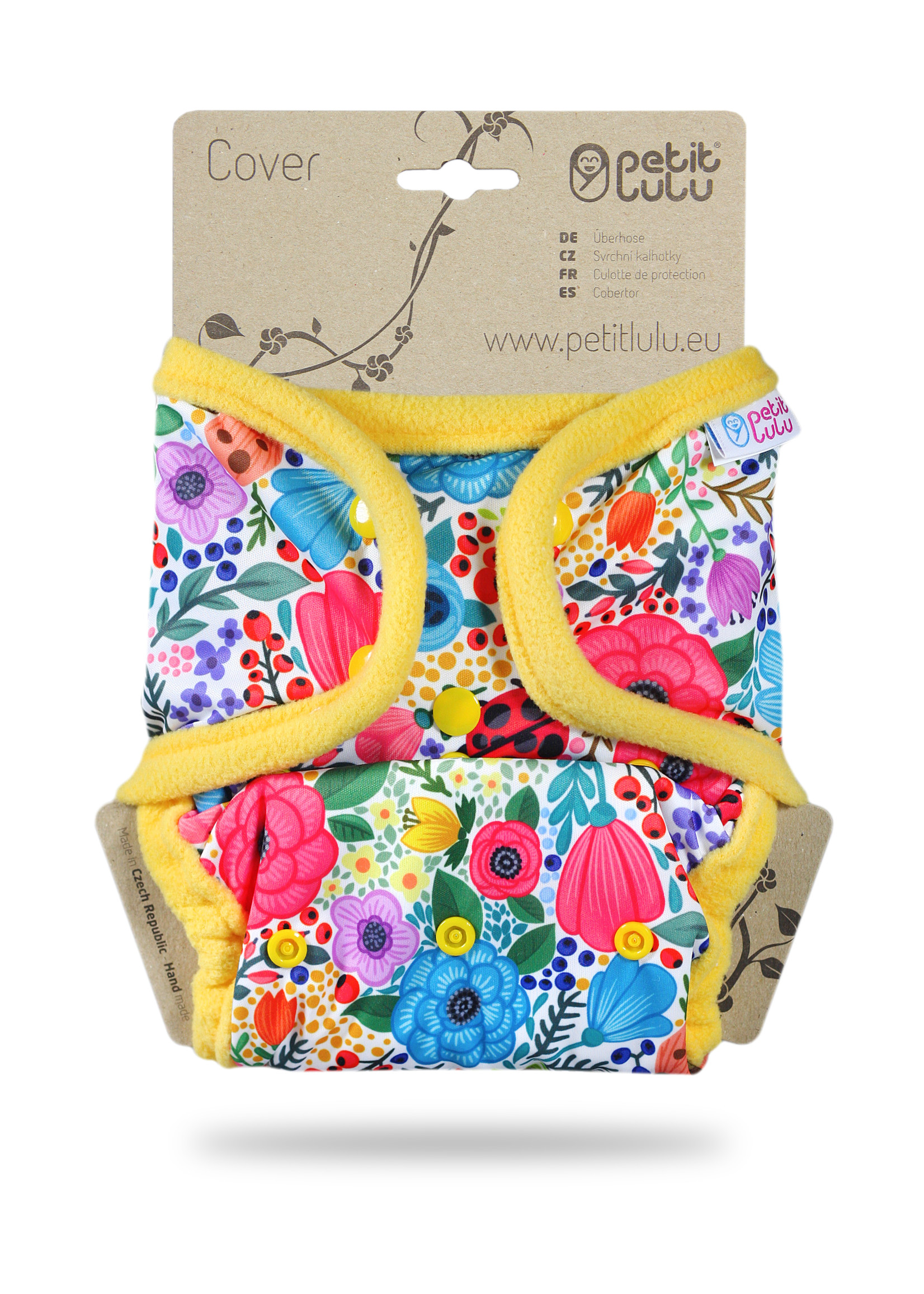 Petit Lulu One Size Cover - Snaps - Blooming Garden