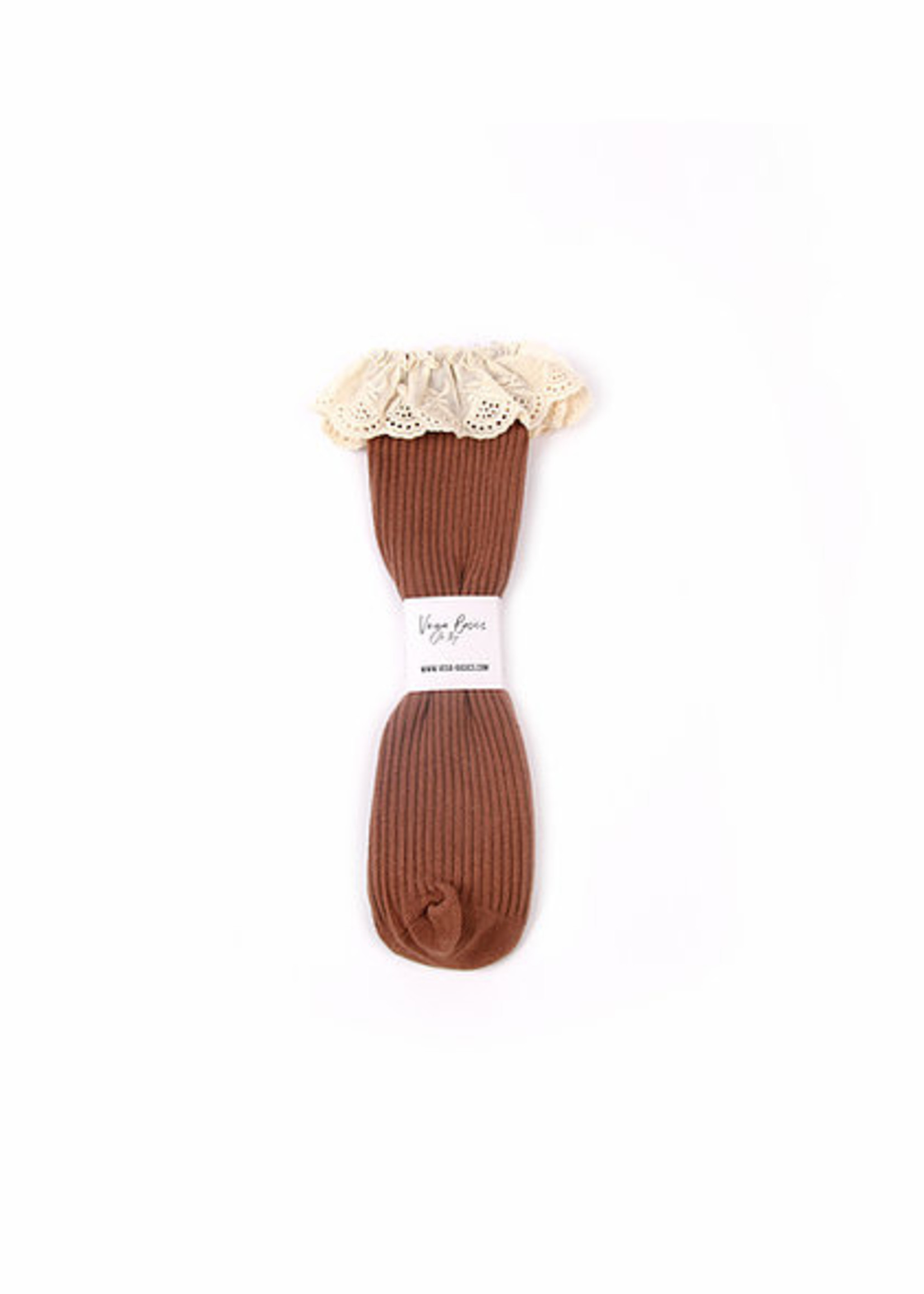 Vega Basics The Emilia Socks - Chocolate