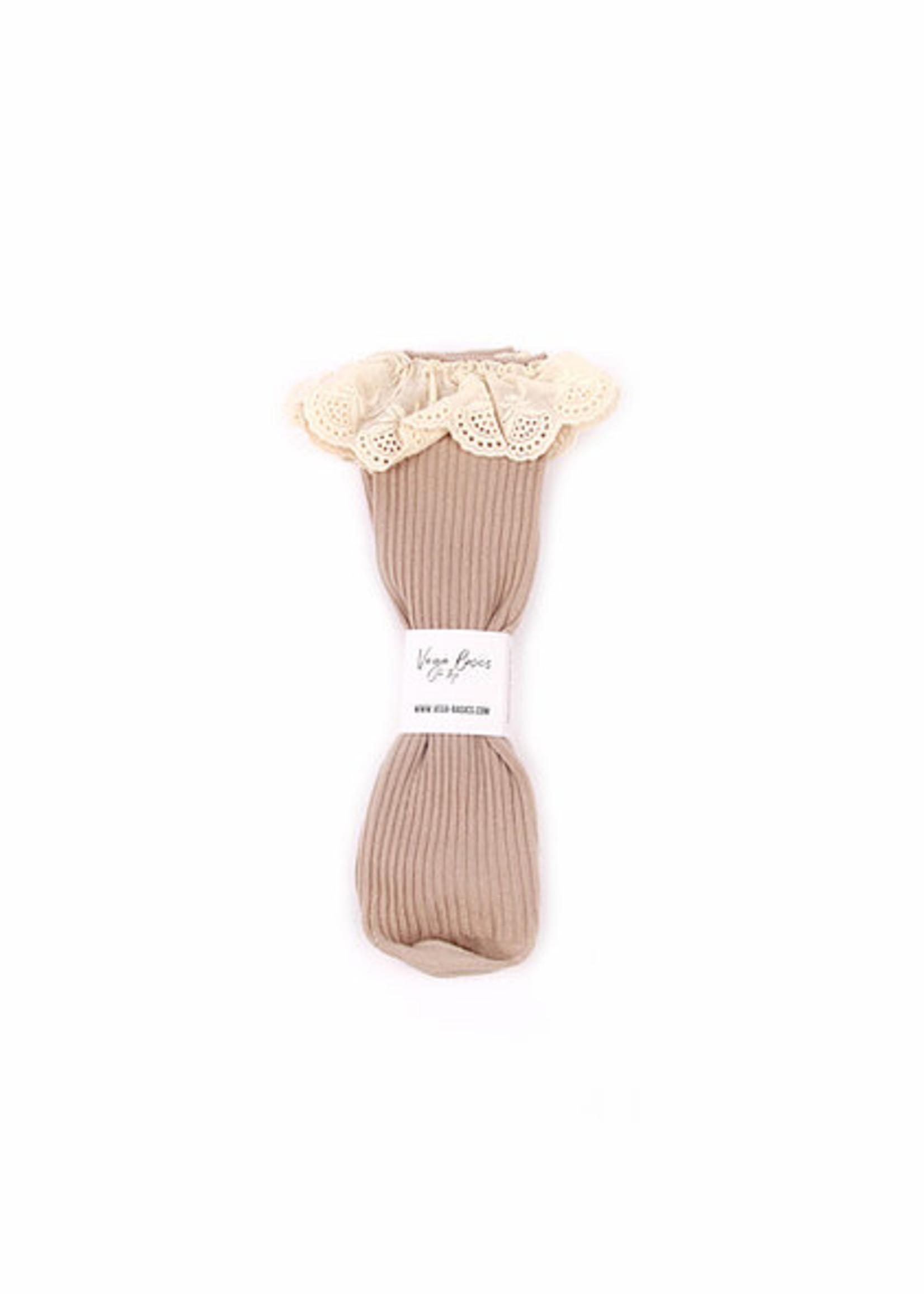 Vega Basics The Emilia Socks - Mokka