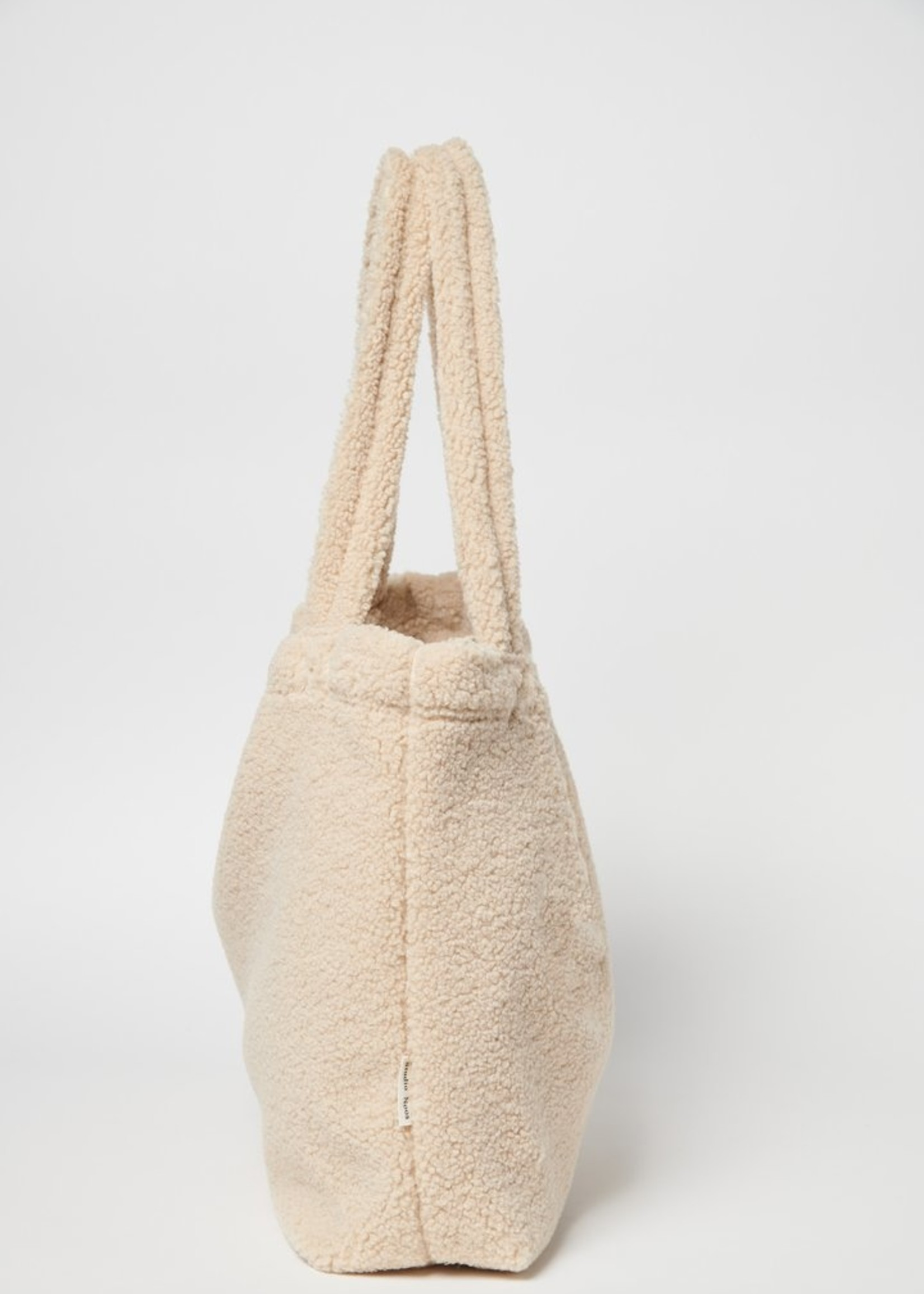 Studio Noos Mom Bag - Chunky Teddy Ecru