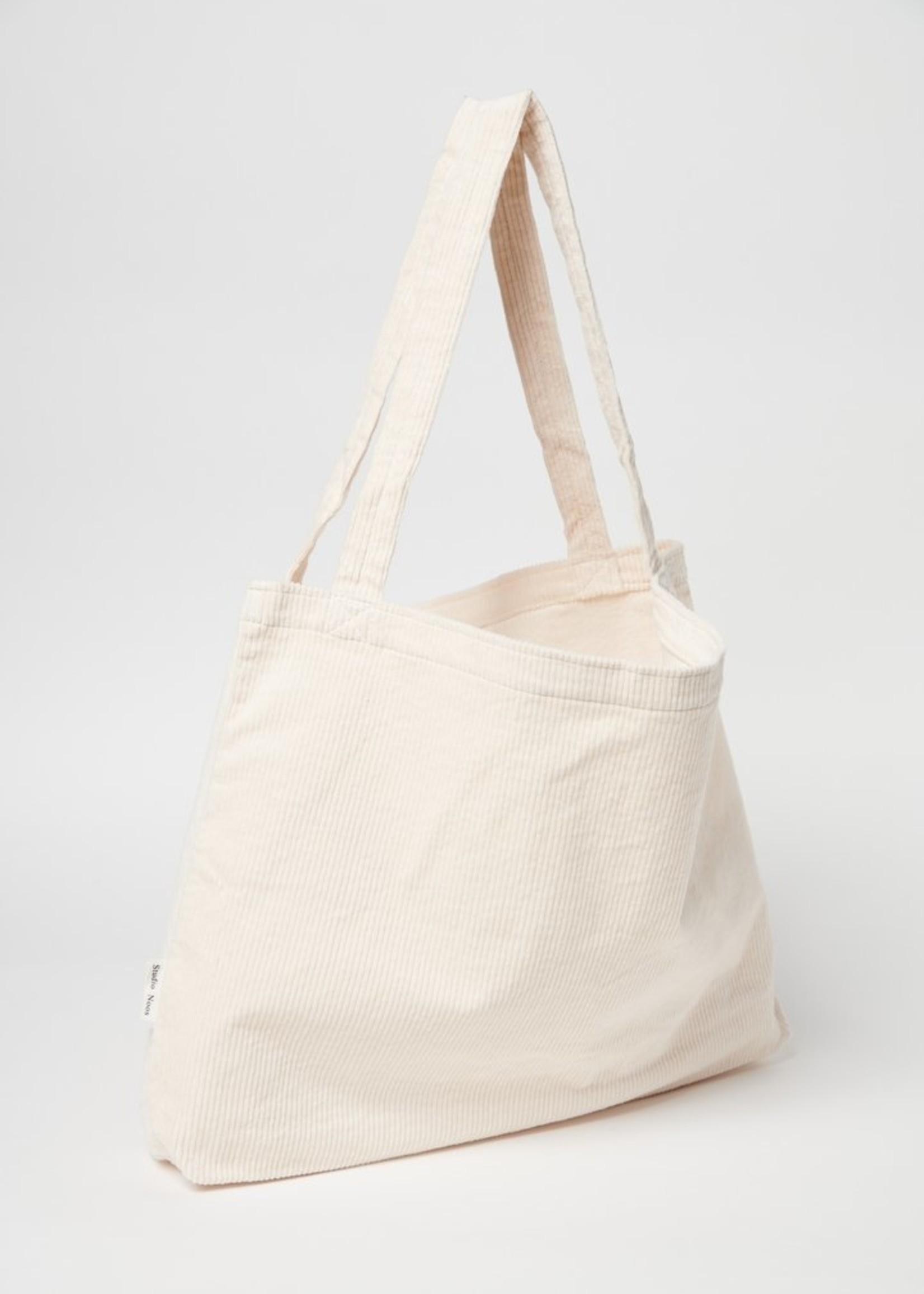 Studio Noos Mom Bag - Old White Rib